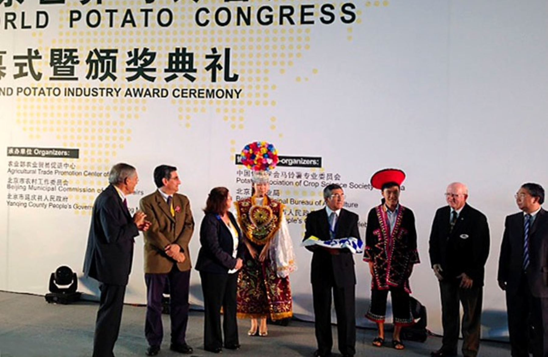 Perú recibe de manera oficial organización de X Congreso Mundial de la Papa en 2018. Foto: Minagri.