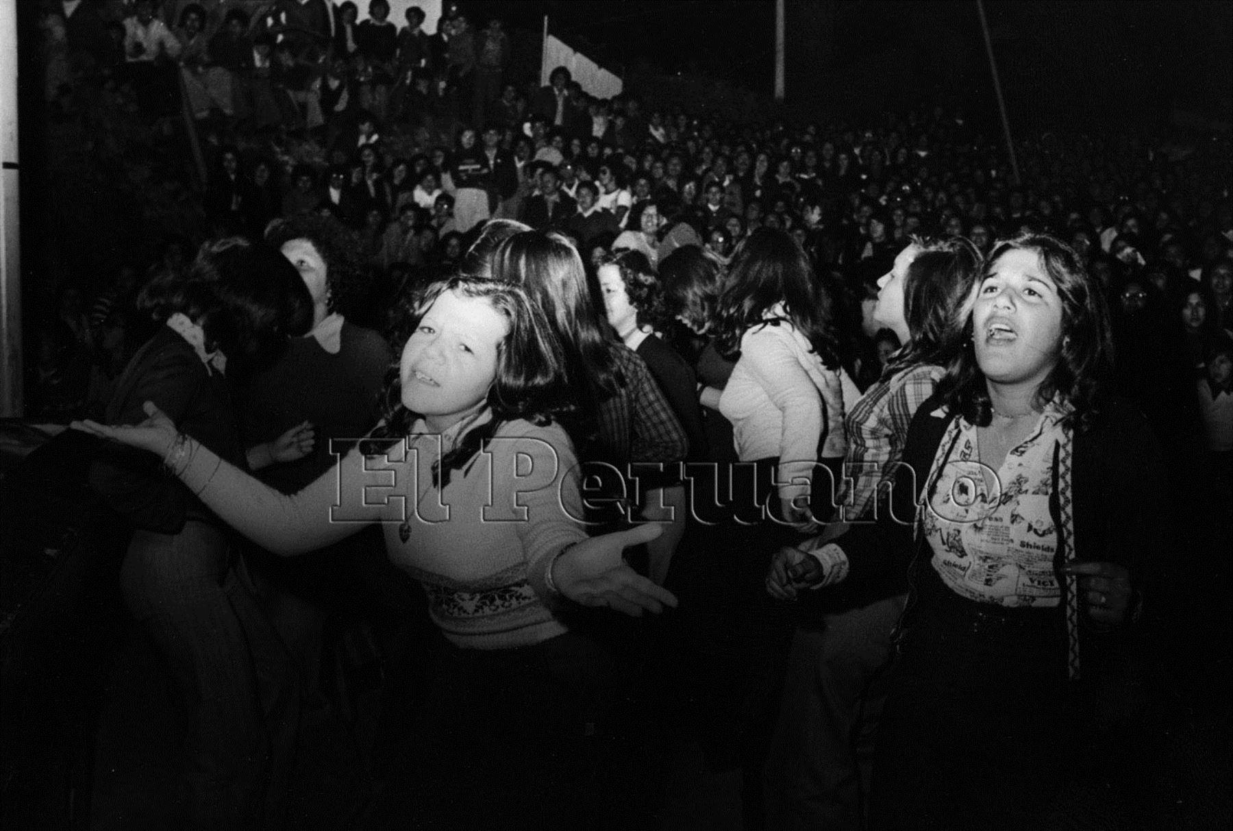 No solo fue Lavoe.  Celia Cruz, Charly García y los grupos argentinos de rock en castellano también se hicieron presentes. Foto: Archivo Histórico El Peruano