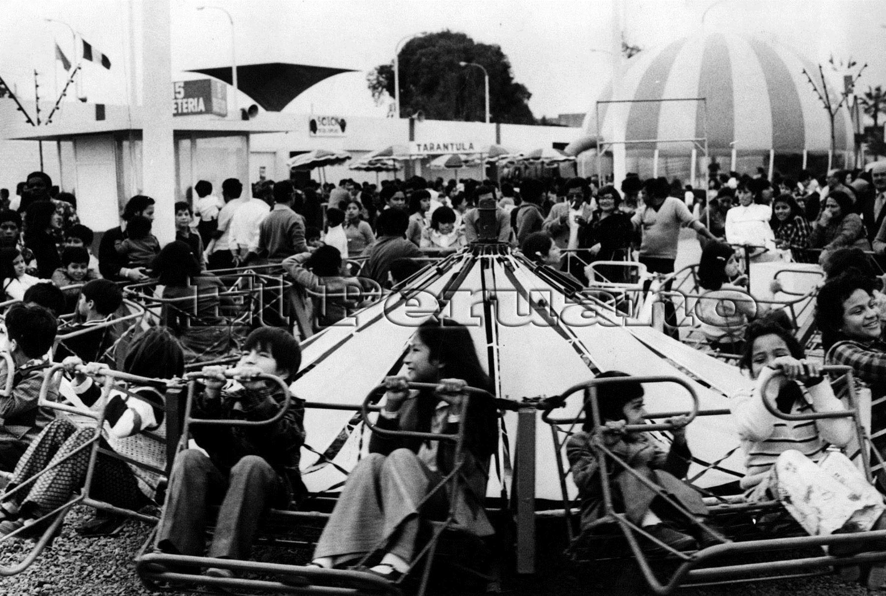 Los peruanos esperaban cada año esta fecha. Foto: Archivo Histórico El Peruano