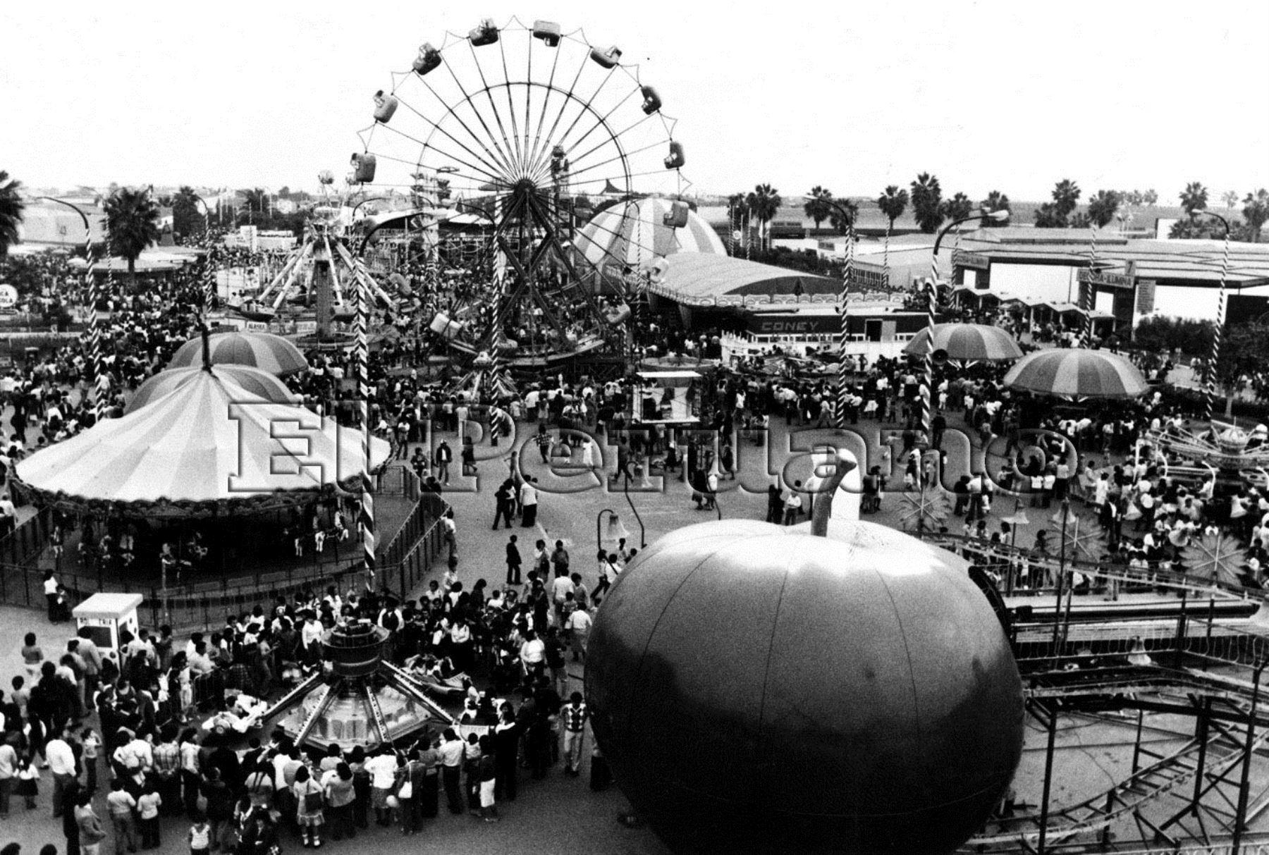 La Feria del Hogar se ubicaba en San Miguel. Foto: Archivo Historico El Peruano