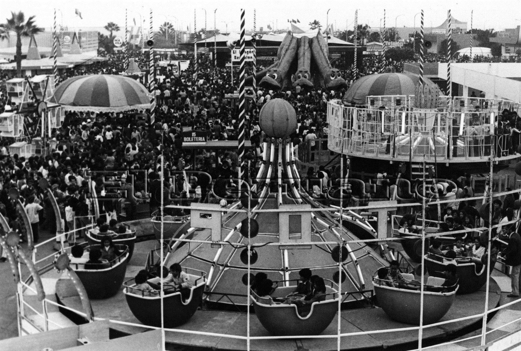 Feria del Hogar. Foto: Archivo Histórico El Peruano.