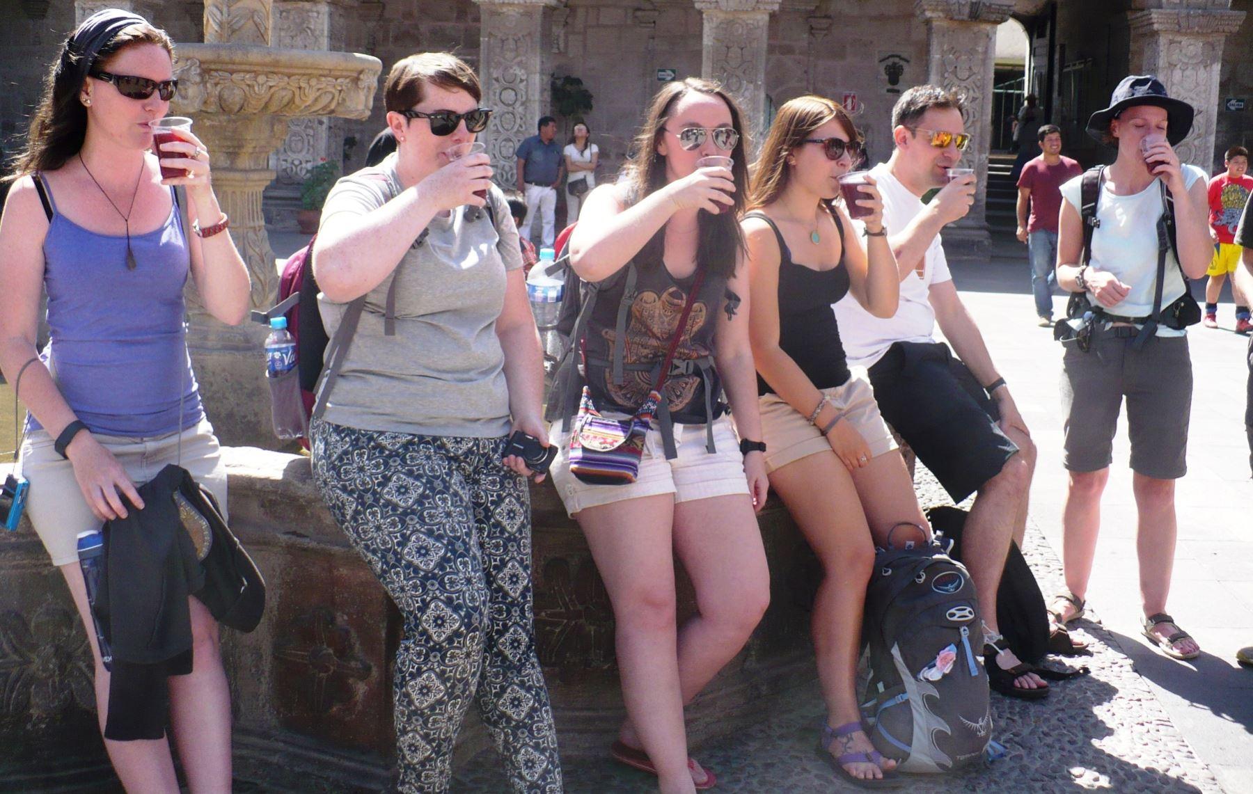 Arequipa espera recibir más de 15,000 turistas para celebrar la Fiesta de la Chicha. ANDINA