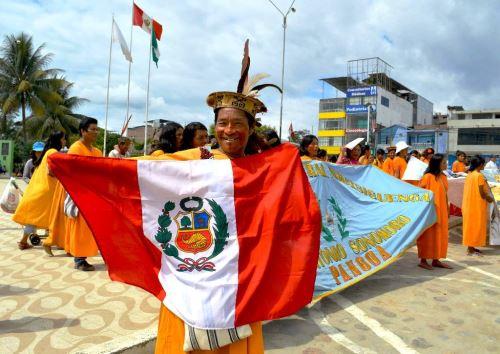 El Ministerio del Ambiente destacó la participación de indígenas en el proceso de actualización de la Política Nacional del Ambiente. ANDINA/Difusión