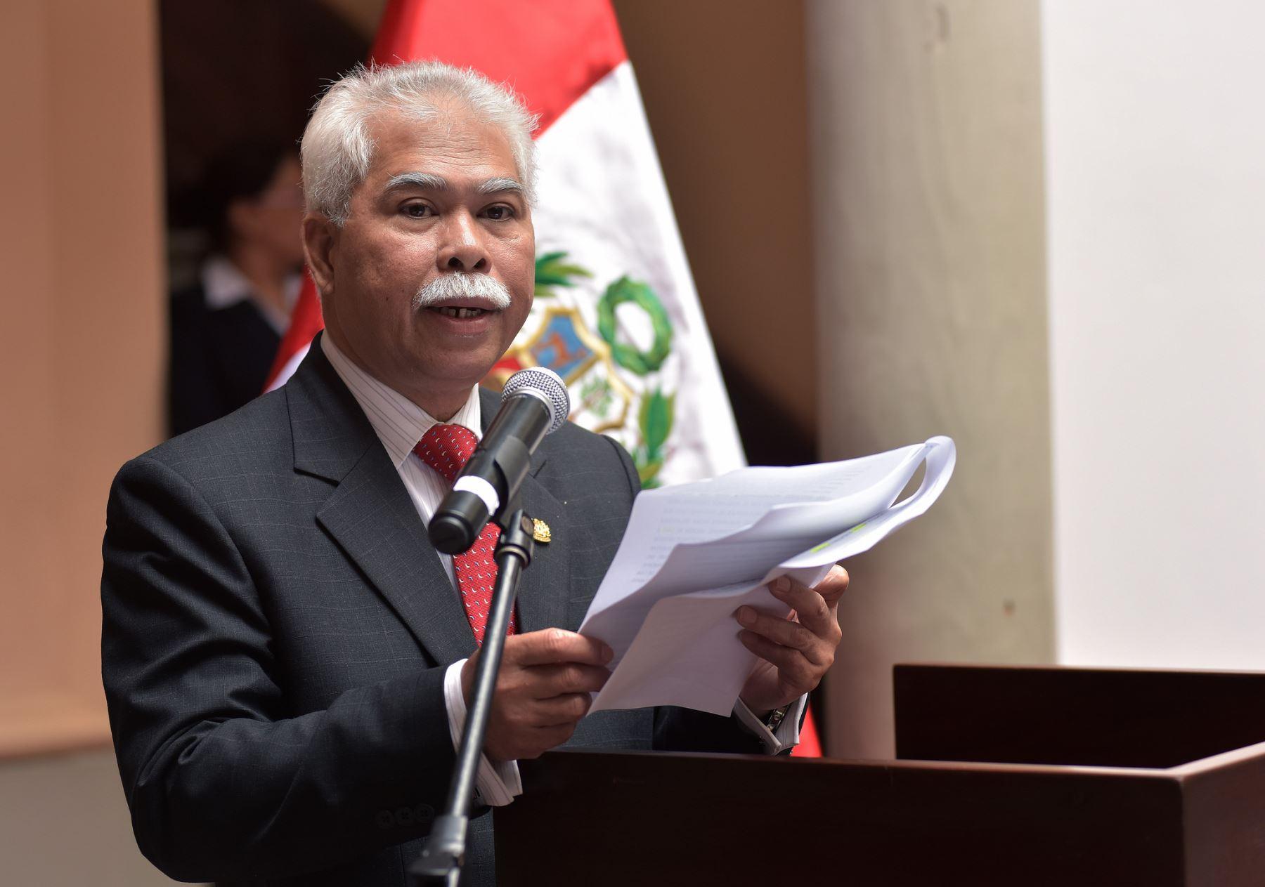 Embajador de Malasia en el Perú, Datuk Ayauf Bachi. Foto: Cancillería.