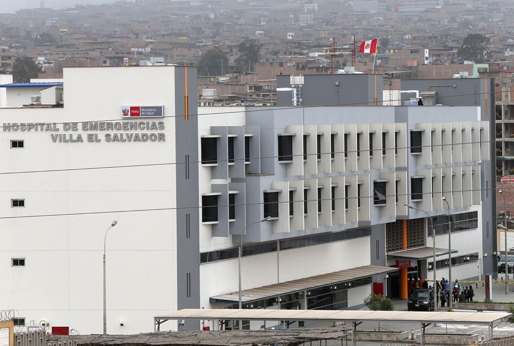 Nuevo Hospital de Emergencias de Villa El Salvador .  ANDINA/Norman Córdova