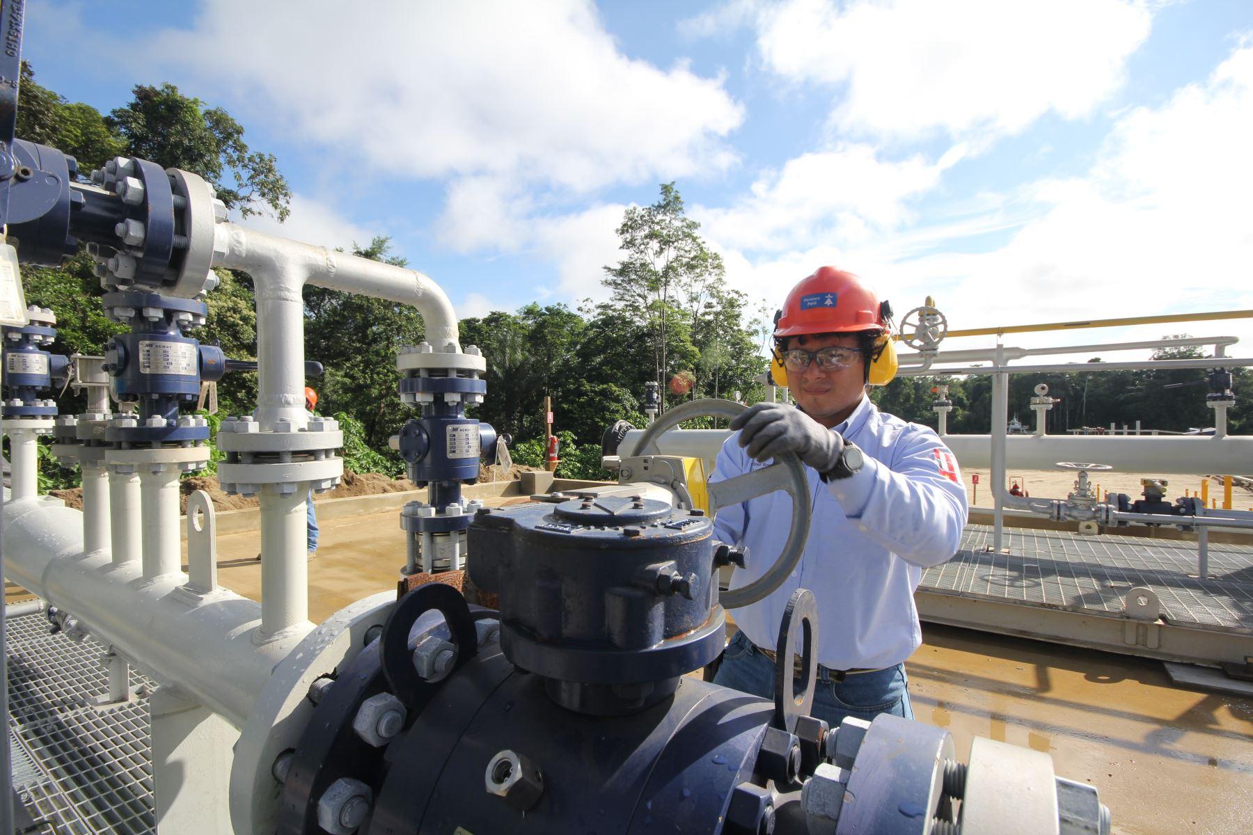 Sector de hidrocarburos. ANDINA/Difusión