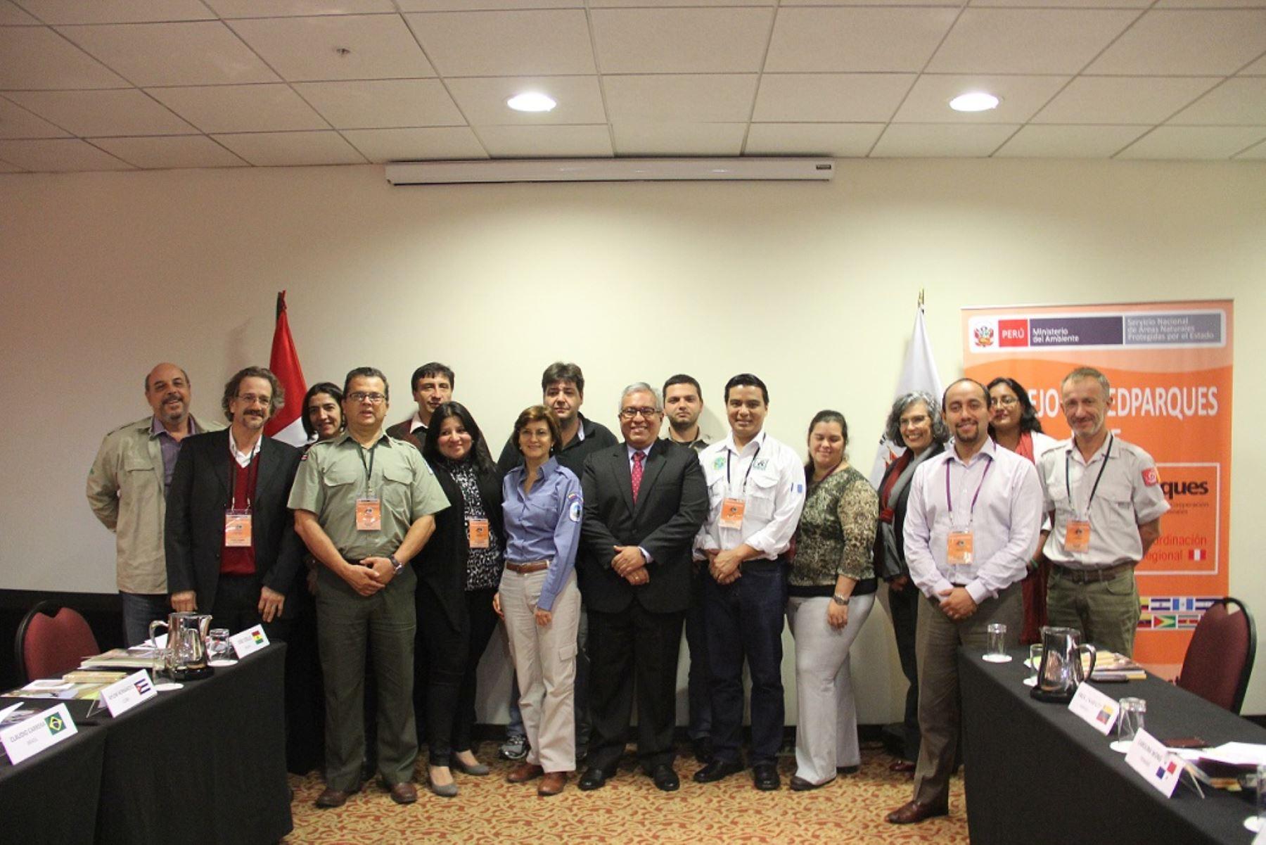 Reunión de Redparques en Lima. Foto: ANDINA/Difusión.