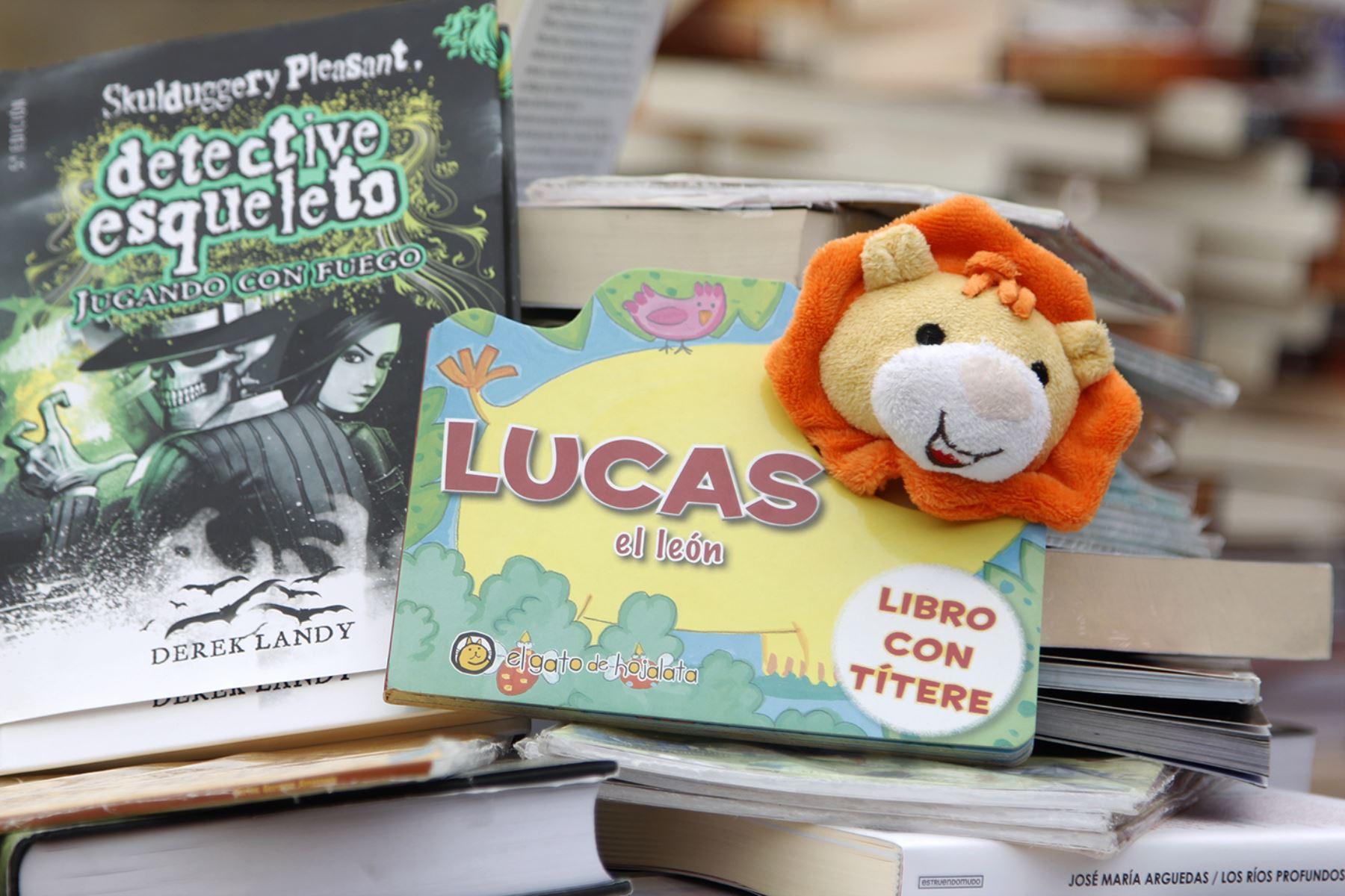 Lanzan campaña Librotón 2015. Foto: Andina/Difusión