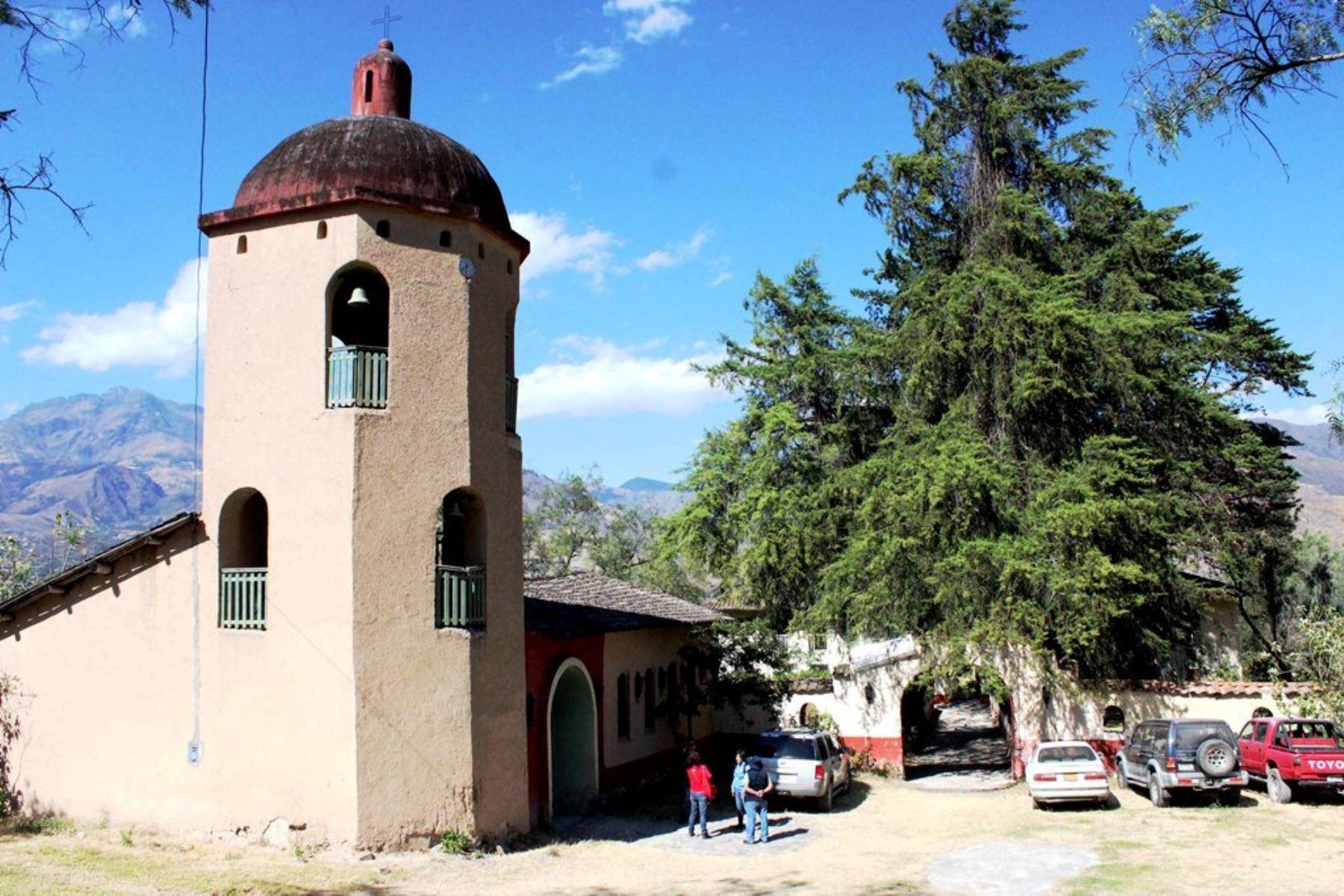 La hacienda Llagadén, en el distrito cajamarquino de Magdalena. Fueron hallados restos arqueológicos. Foto: ANDINA/Difusión.