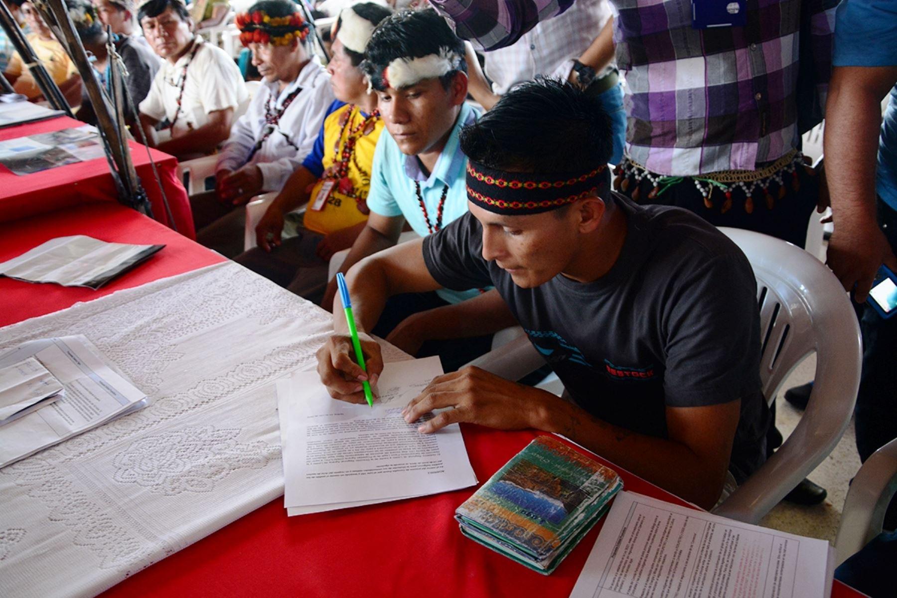 Concluye diálogo con las comunidades de cuenca del Río Tigre sobre el Lote 192. Foto: ANDINA/Difusión.