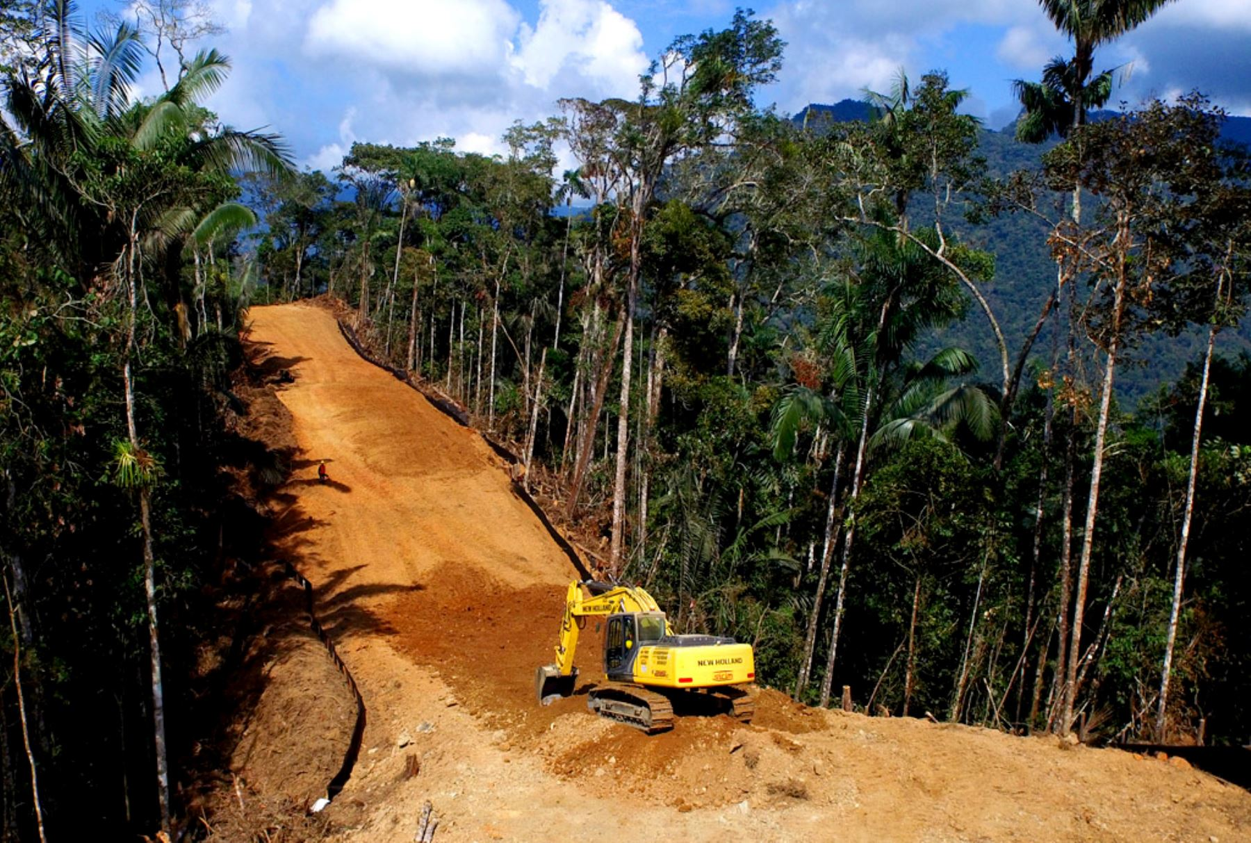 Gasoducto Sur Peruano. Foto: ANDINA/Difusión
