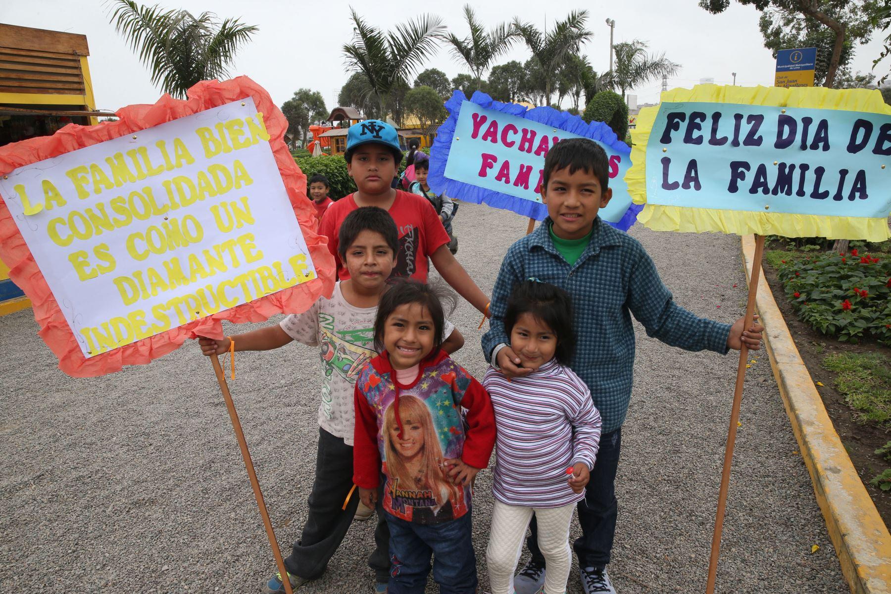 Celebración será en el Parque La Muralla, en Cercado de Lima. Foto: ANDINA/Norman Córdova
