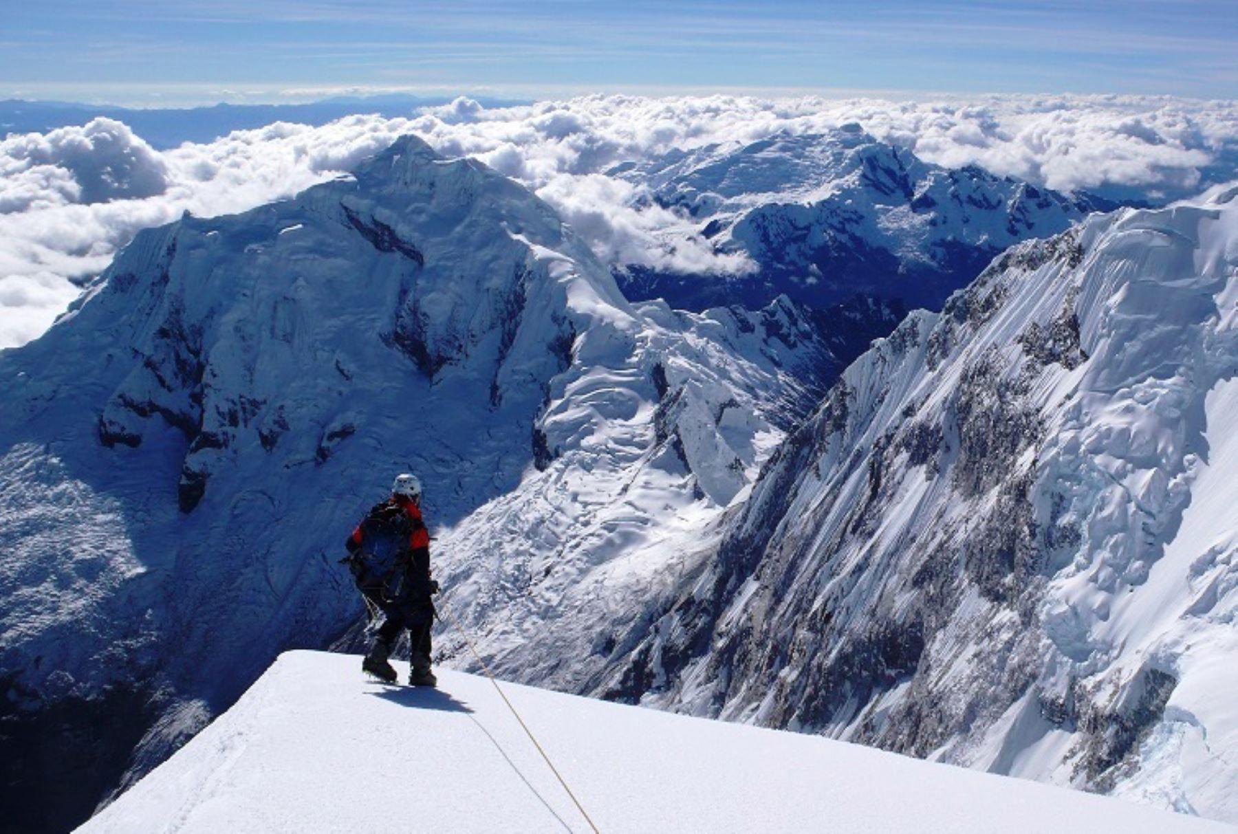 Nevados en el Parque Nacional de Huascarán, en Perú. Foto: ANDINA/Difusión.