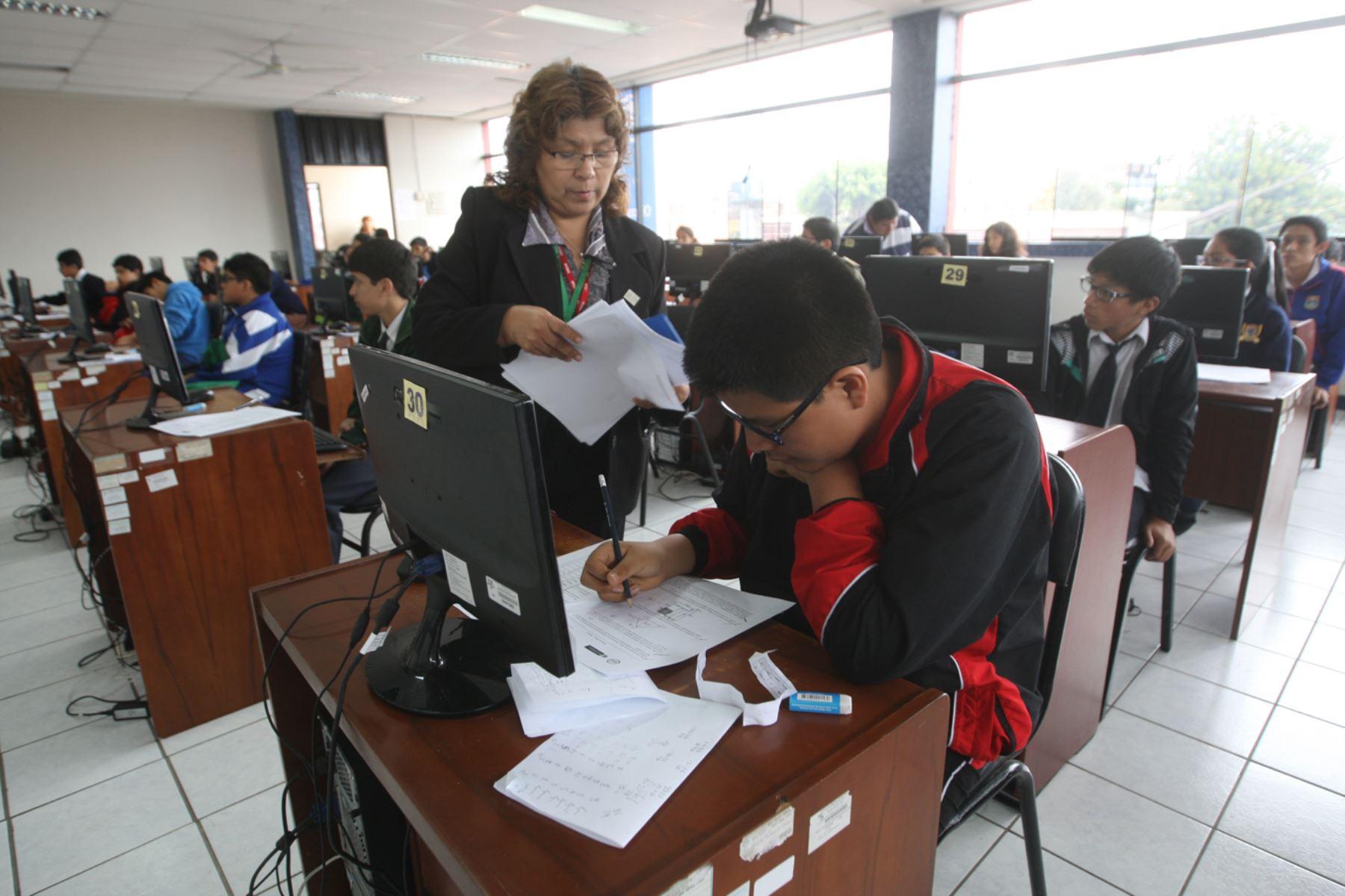 Evaluación cualitativa comenzará en primero de secundaria . Foto: ANDINA/Juan Carlos Guzmán