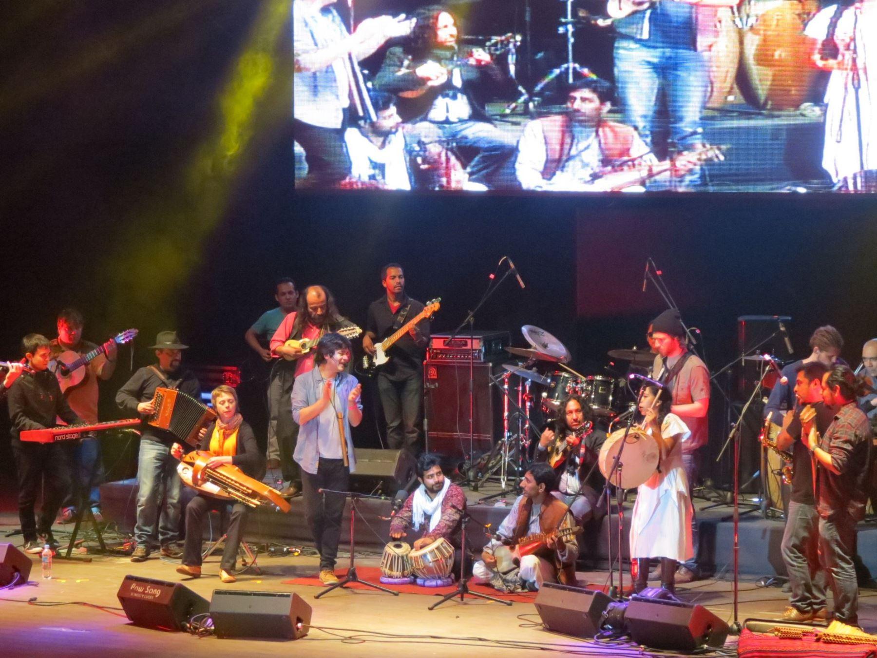 Momentos delEl Festival Internacional de Música de Alturas.