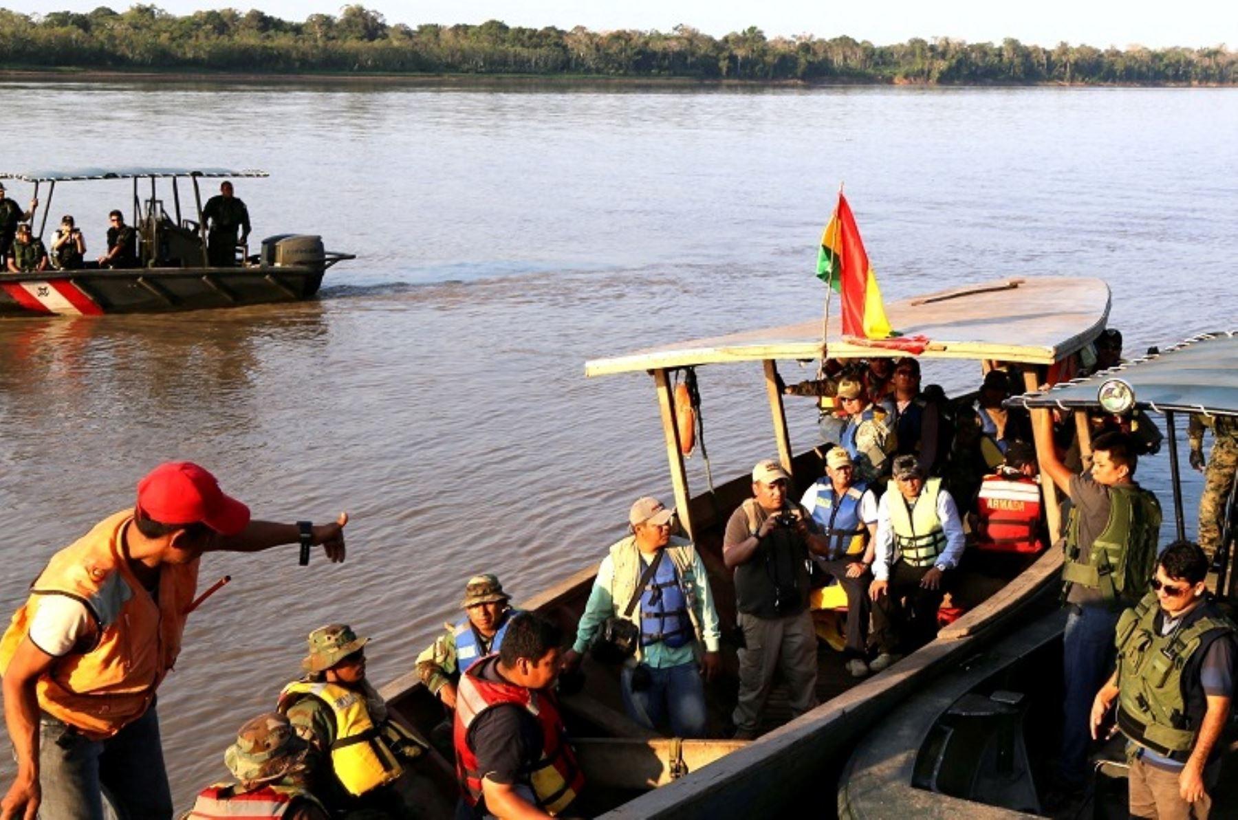 Perú y Bolivia realizaron operativo contra minería ilegal en frontera. Foto: Difusión.