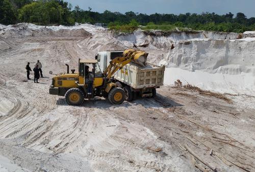 Corte de Loreto condena a ocho años de prisión a dos personas por minería ilegal. ANDINA/Archivo