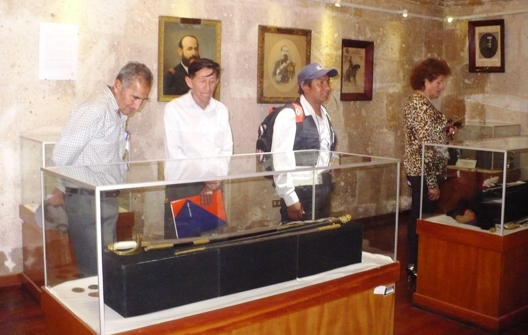 Museo Histórico Municipal de Arequipa cuenta con moderno sistema de videovigilancia. ANDINA/Rocío Méndez