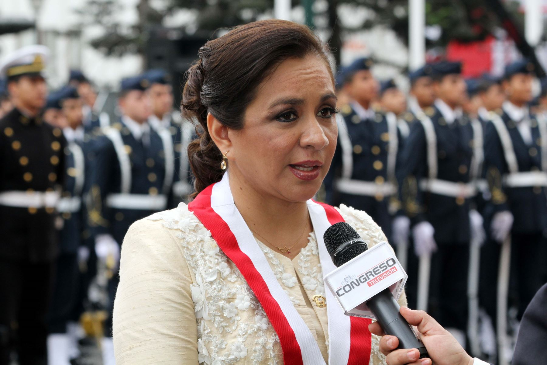 Marisol Espinoza, Vicepresidenta de la República y congresista