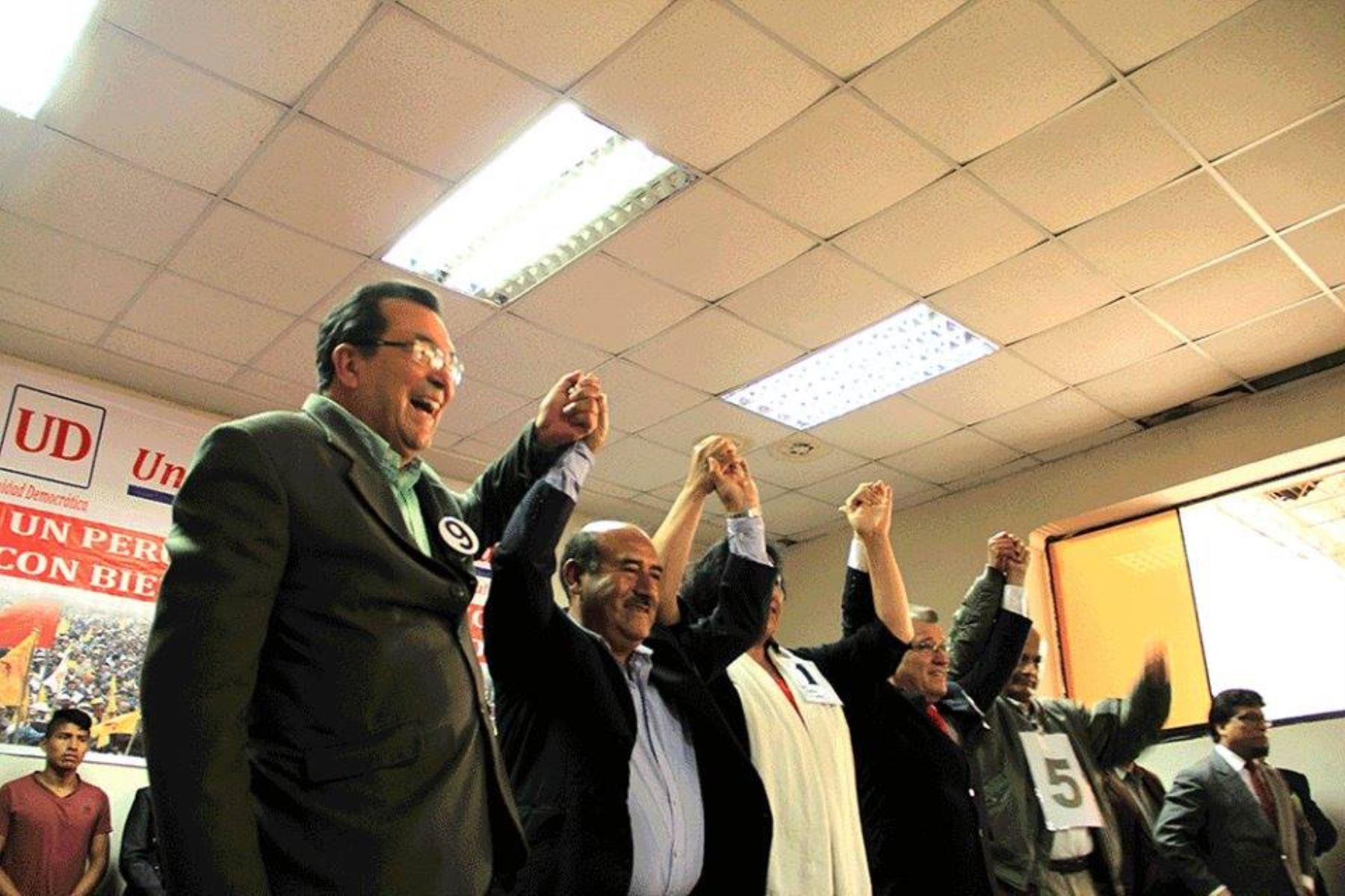 Seis candidatos participan en elecciones internas de Unidad Democrática