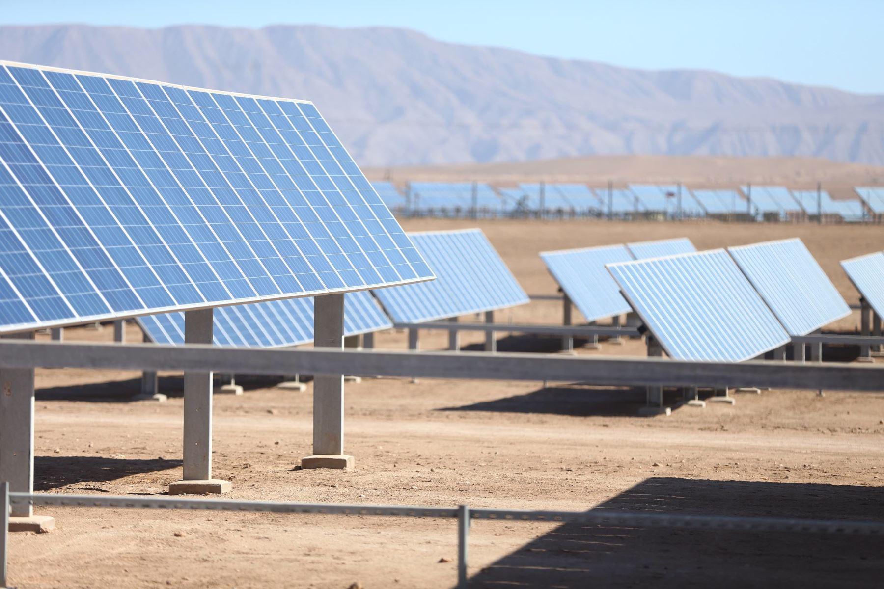 Energía renovable. ANDINA/Prensa Presidencia