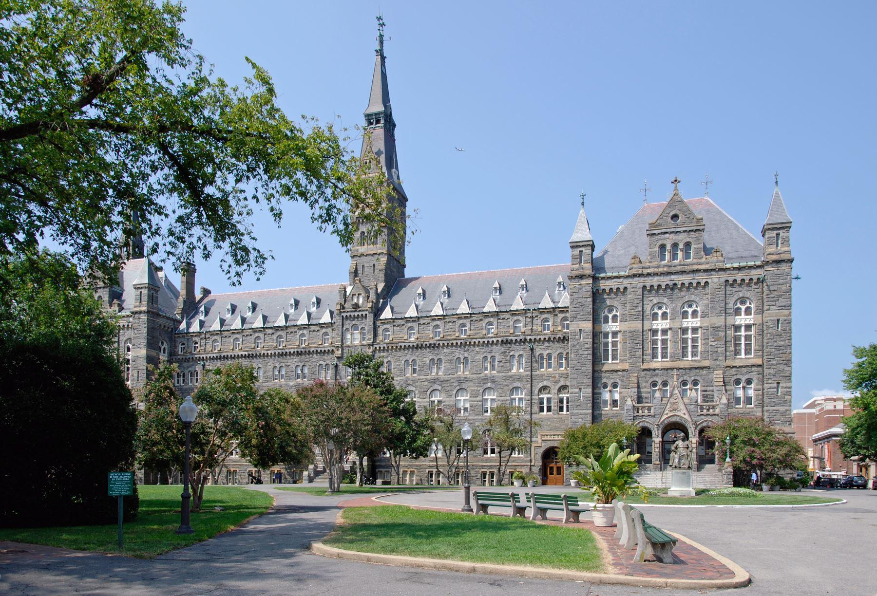 Universidad de Georgetown. Foto: ANDINA/Internet.