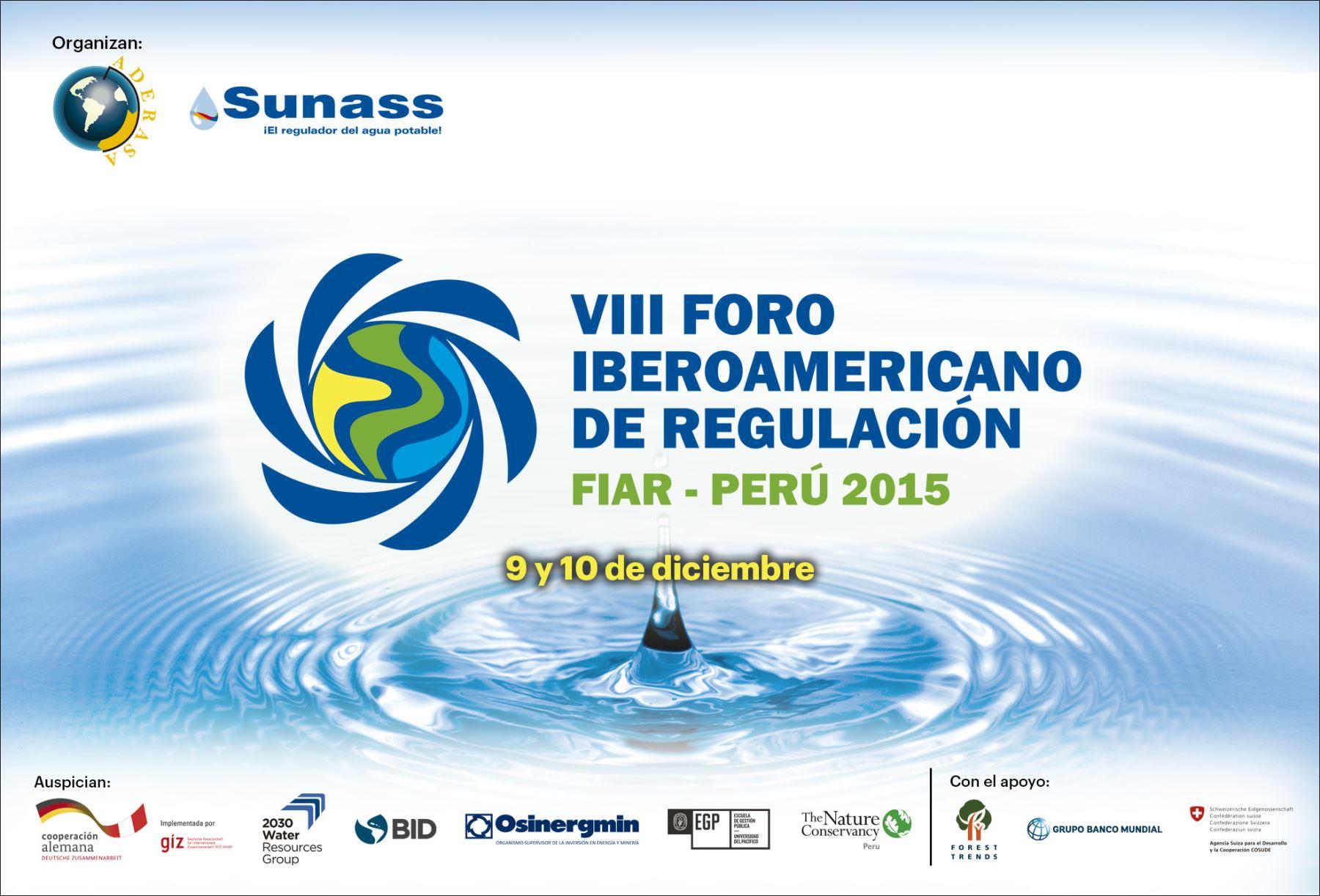 Foro Iberoamericano sobre regulación de recursos hídricos