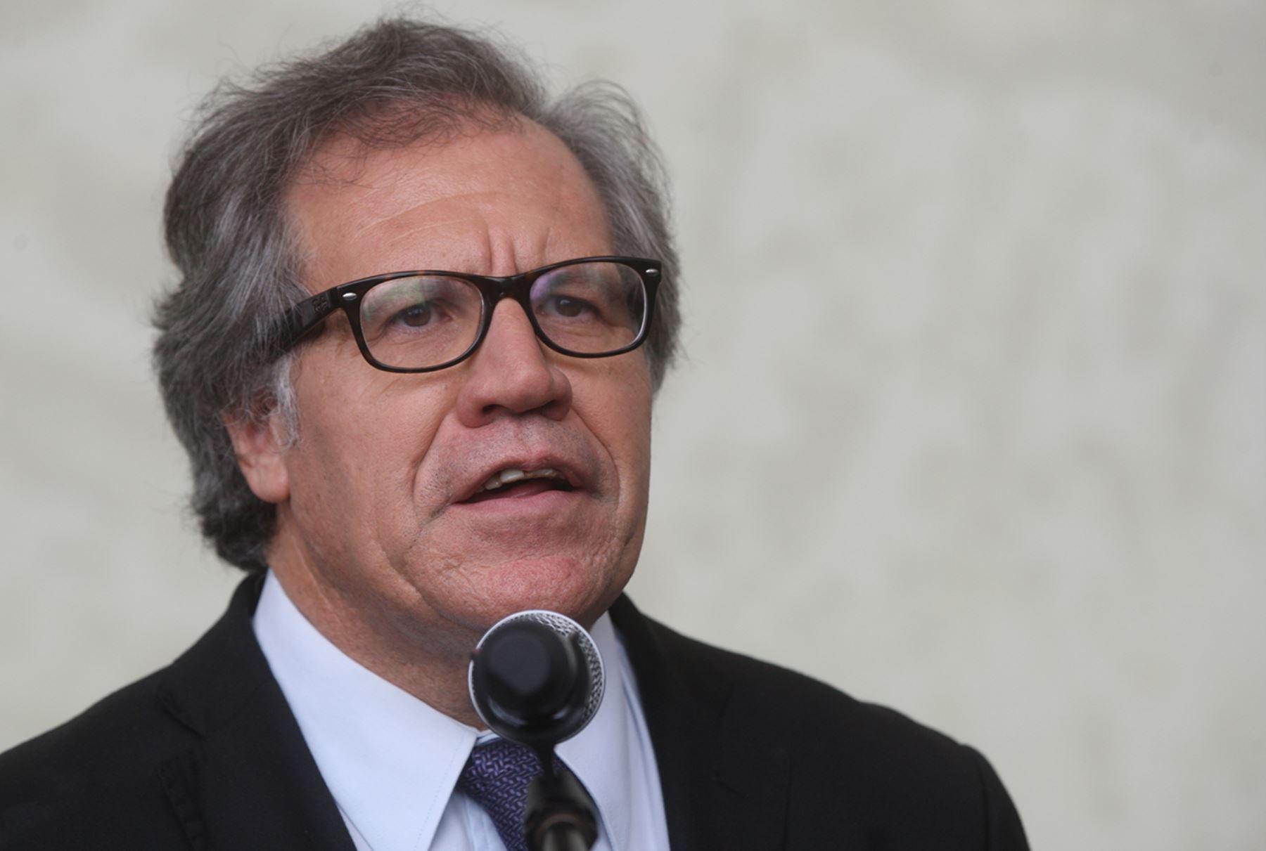 Secretario general de la OEA, Luis Almagro. Foto: ANDINA/Juan Carlos Guzmán