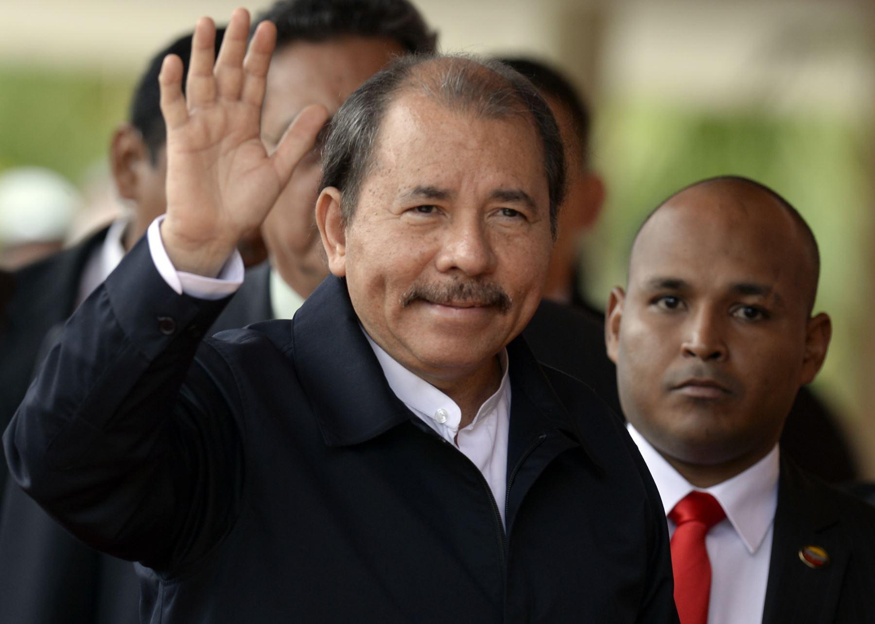 Presidente de Nicaragua, Daniel Ortega. AFP