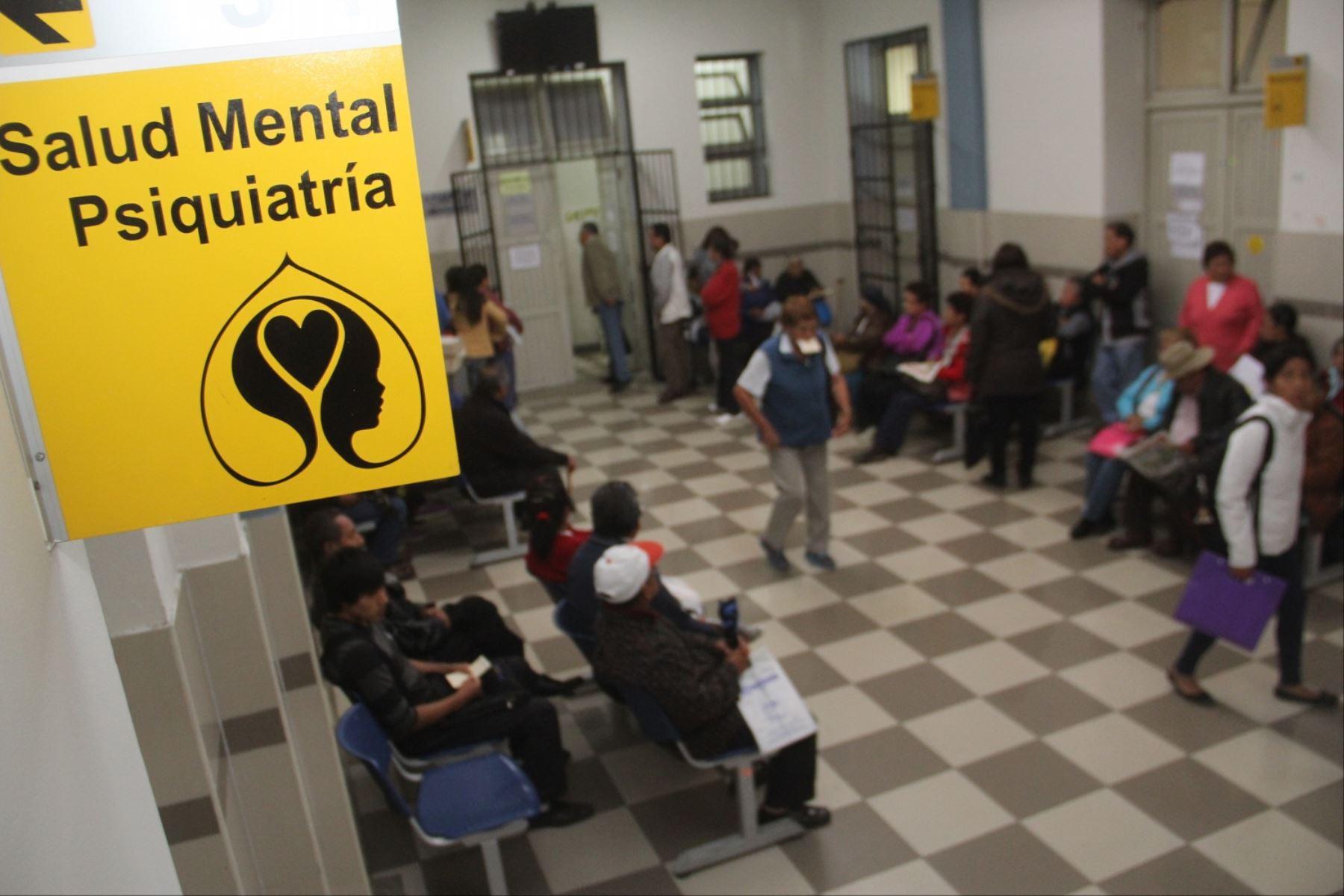 Las enfermedades de salud mental que atiende con más frecuencia el SIS son esquizofrenia, ansiedad, depresión y alcoholismo. ANDINA