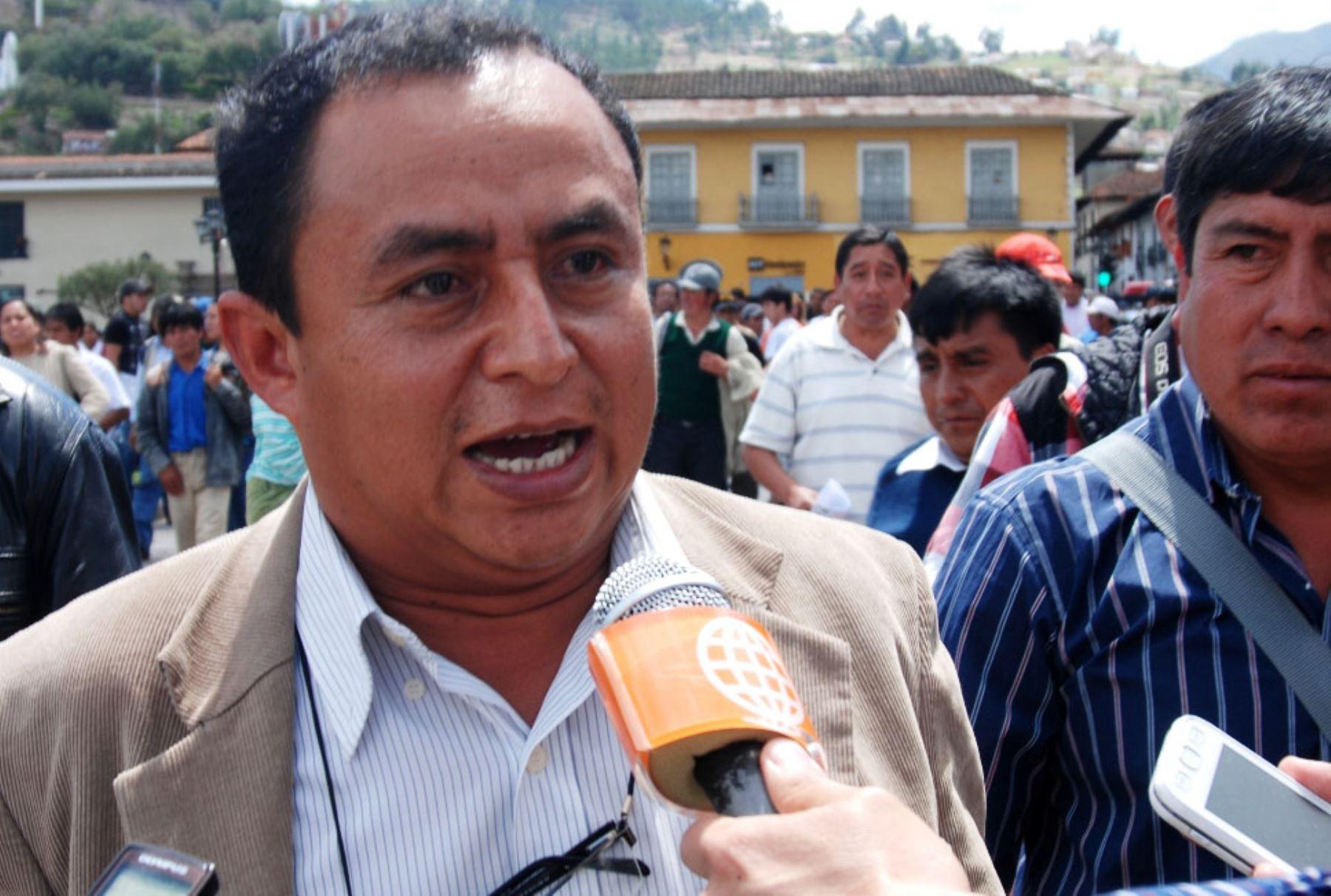Gregorio Santos. Foto: ANDINA/Archivo.
