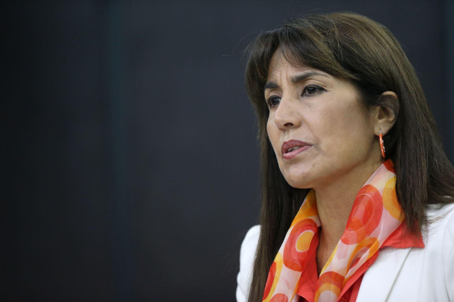 LIMA,PERÚ-DICIEMBRE 29.La ministra de Comercio Exterior, Magali Silva Velarde . Foto: ANDINA/Norman Córdova