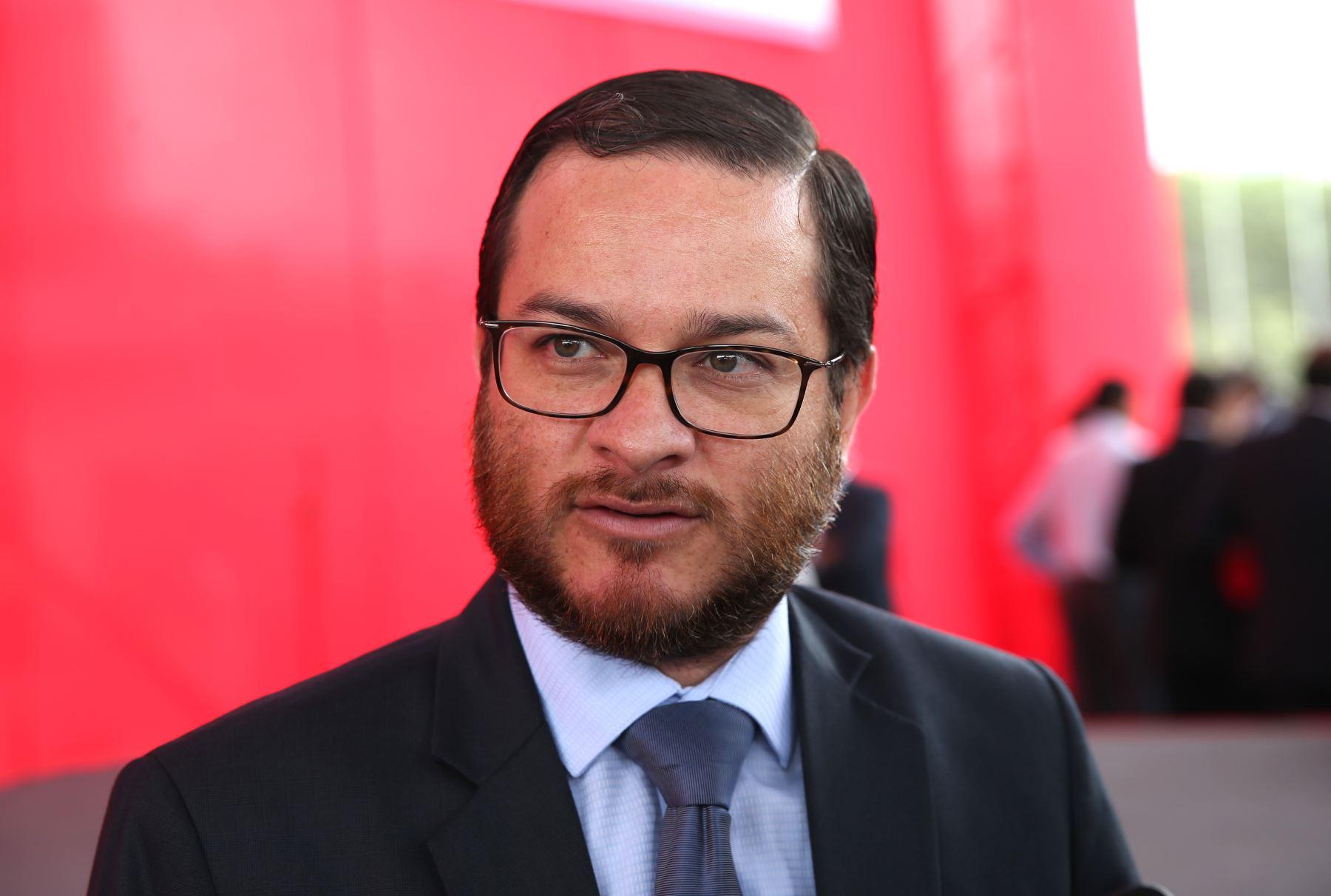 Viceministro de Comercio Exterior, Edgar Vásquez.Foto:  ANDINA/Norman Córdova