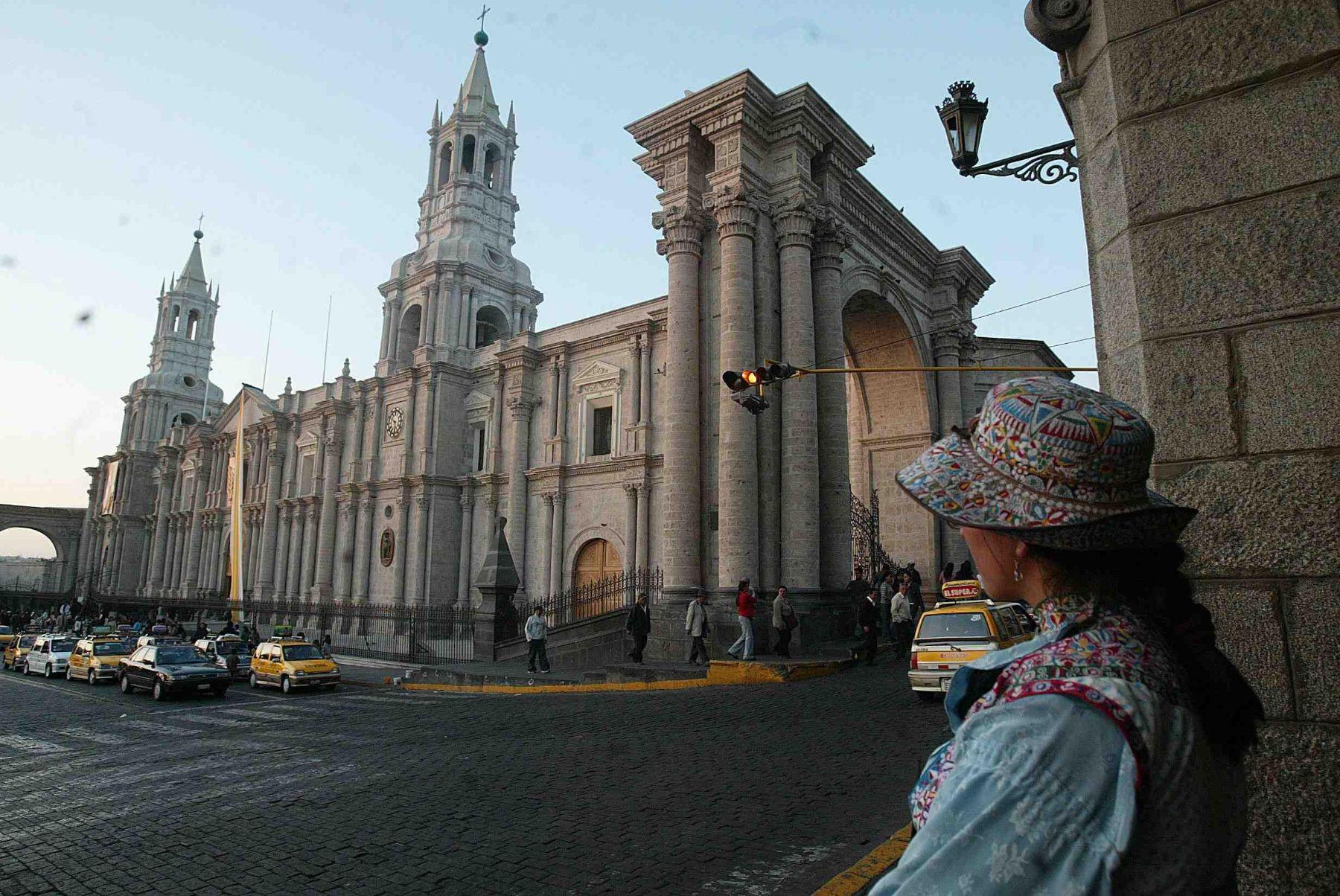 Plaza de Armas de Arequipa. Foto: ANDINA/ archivo