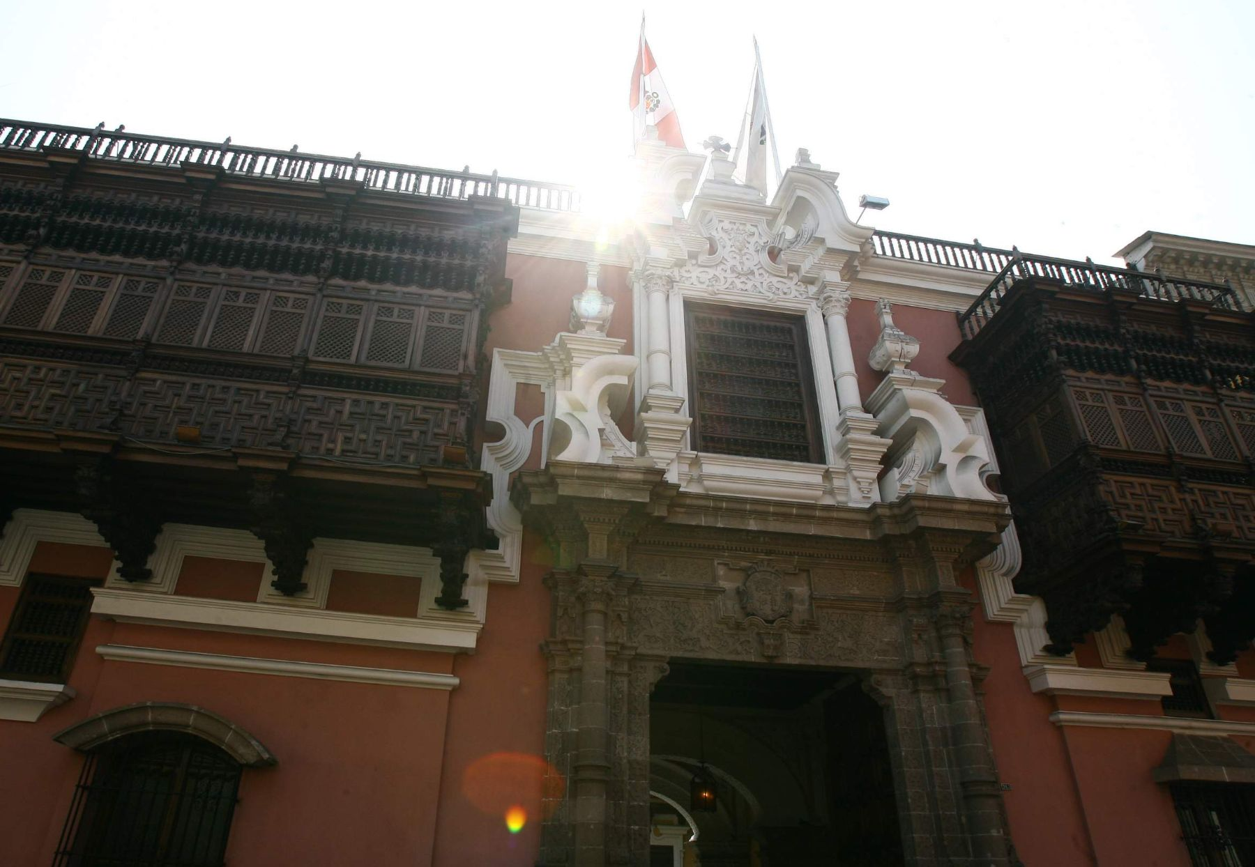 The Torre Tagle Palace is home to Peru