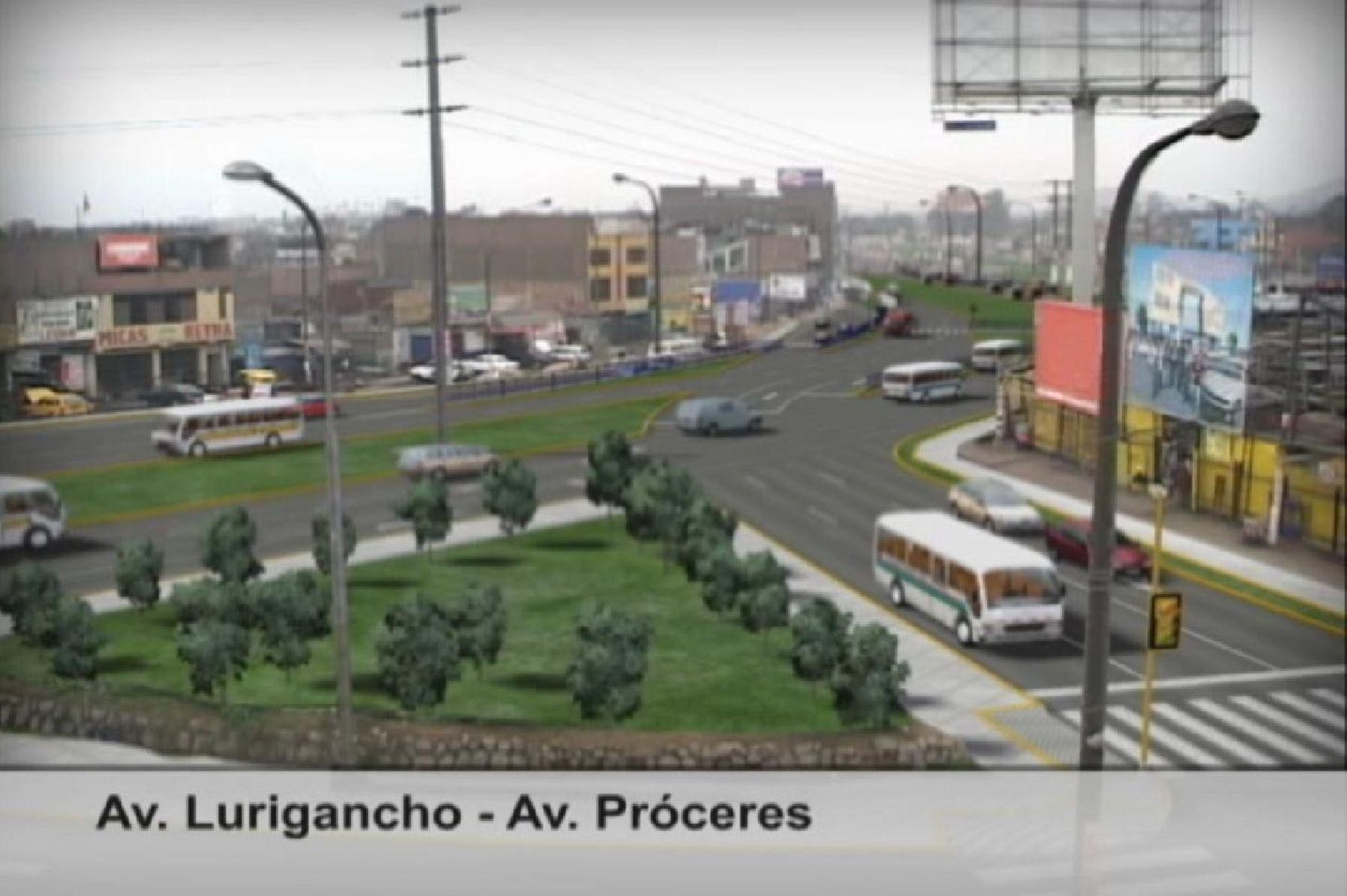 Nuevo corredor Próceres de la Independencia se integrará a eje vial Vía Expresa Grau-El Agustino-San Juan de Lurigancho