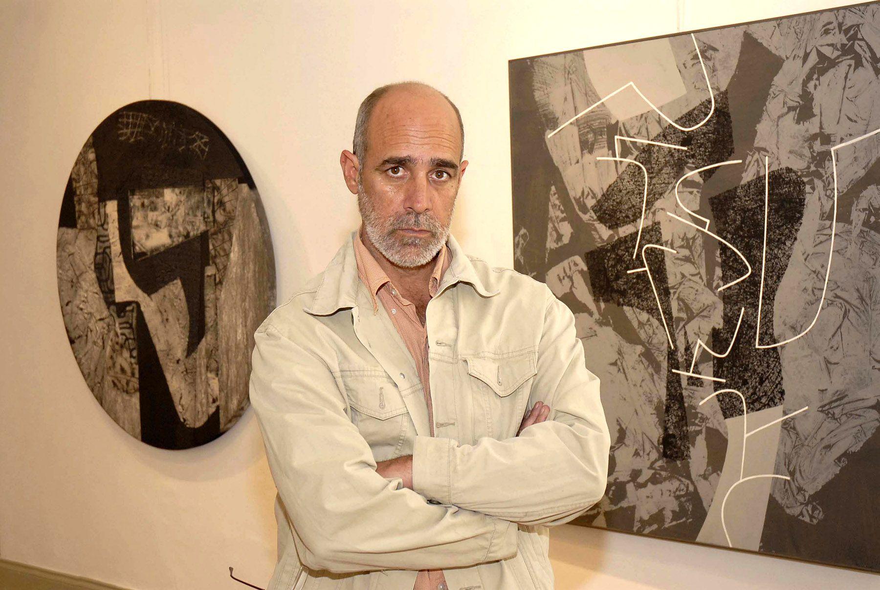 Artista plástico, Ricardo Wiesse. Foto:ANDINA/