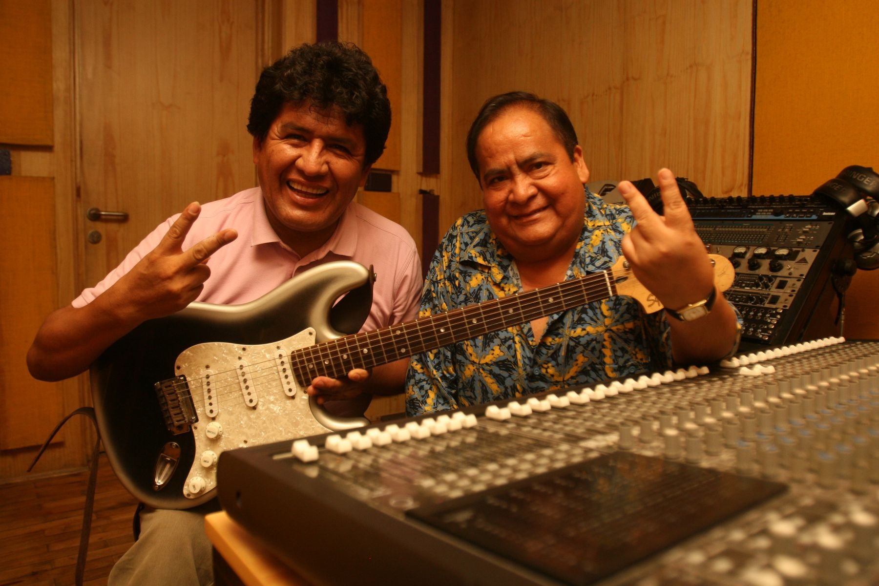 Los Shapis: Jaime Moreyra y Julio Simeón