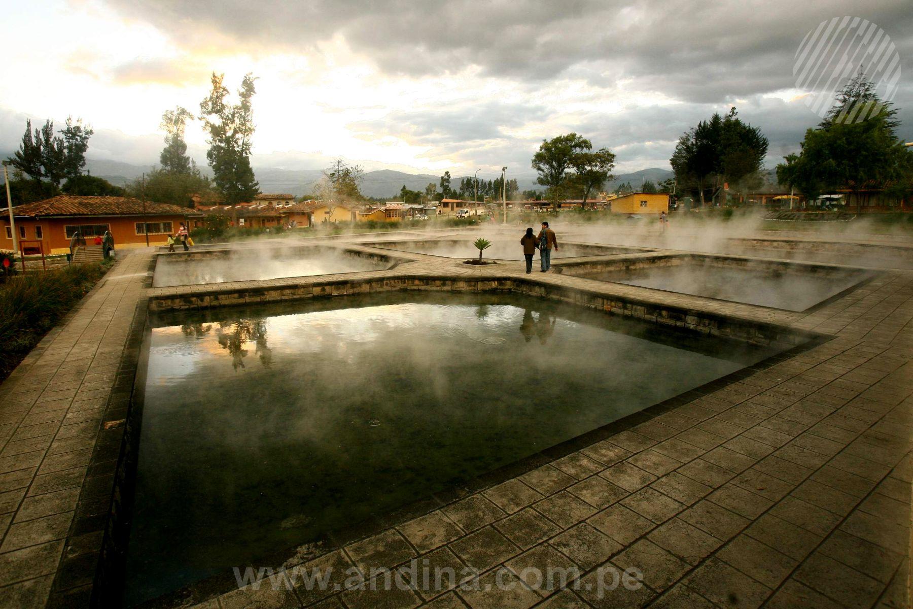 Operadores turísticos visitarán Baños del Inca, en Cajamarca. Foto: ANDINA/Archivo.
