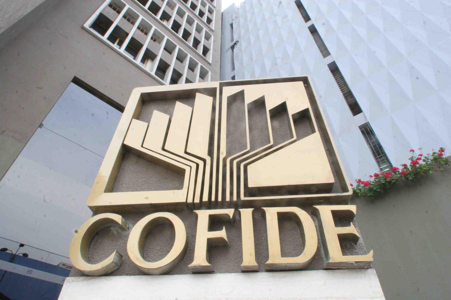 Cofide. Foto: ANDINA/archivo