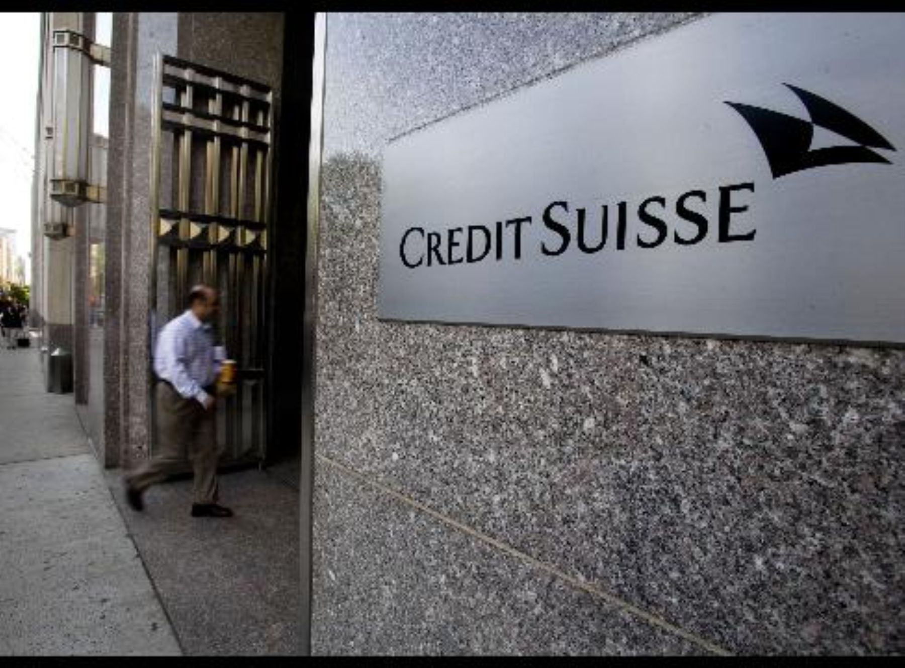 Credit Suisse, Investment Bank. Photo:Andina/Difusion