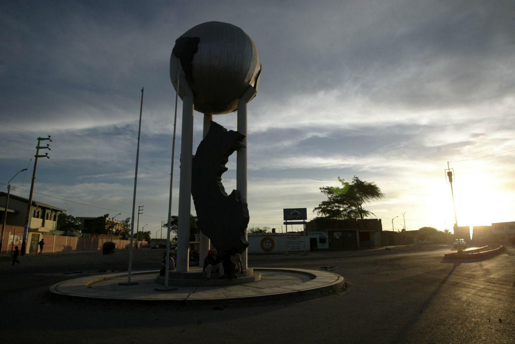 El epicentro del sismo de magnitud 3.9 se ubicó cerca de la ciudad de Paita, en Piura. ANDINA/archivo