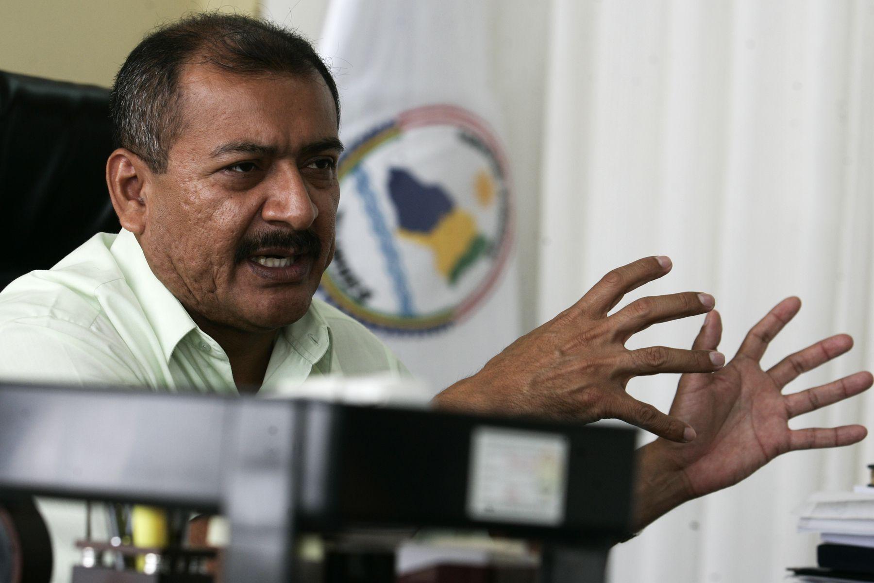 Gobernador de Tumbes, Wilmer Dios, hizo un llamado a la unidad de fuerzas políticas por el desarrollo del país. ANDINA/archivo