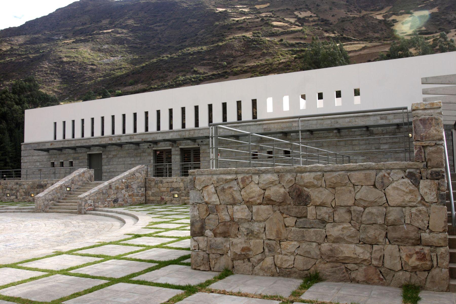 Nuevo museo en Chavín de  Huantar.  Foto: ANDINA/ Hèctor Vinces