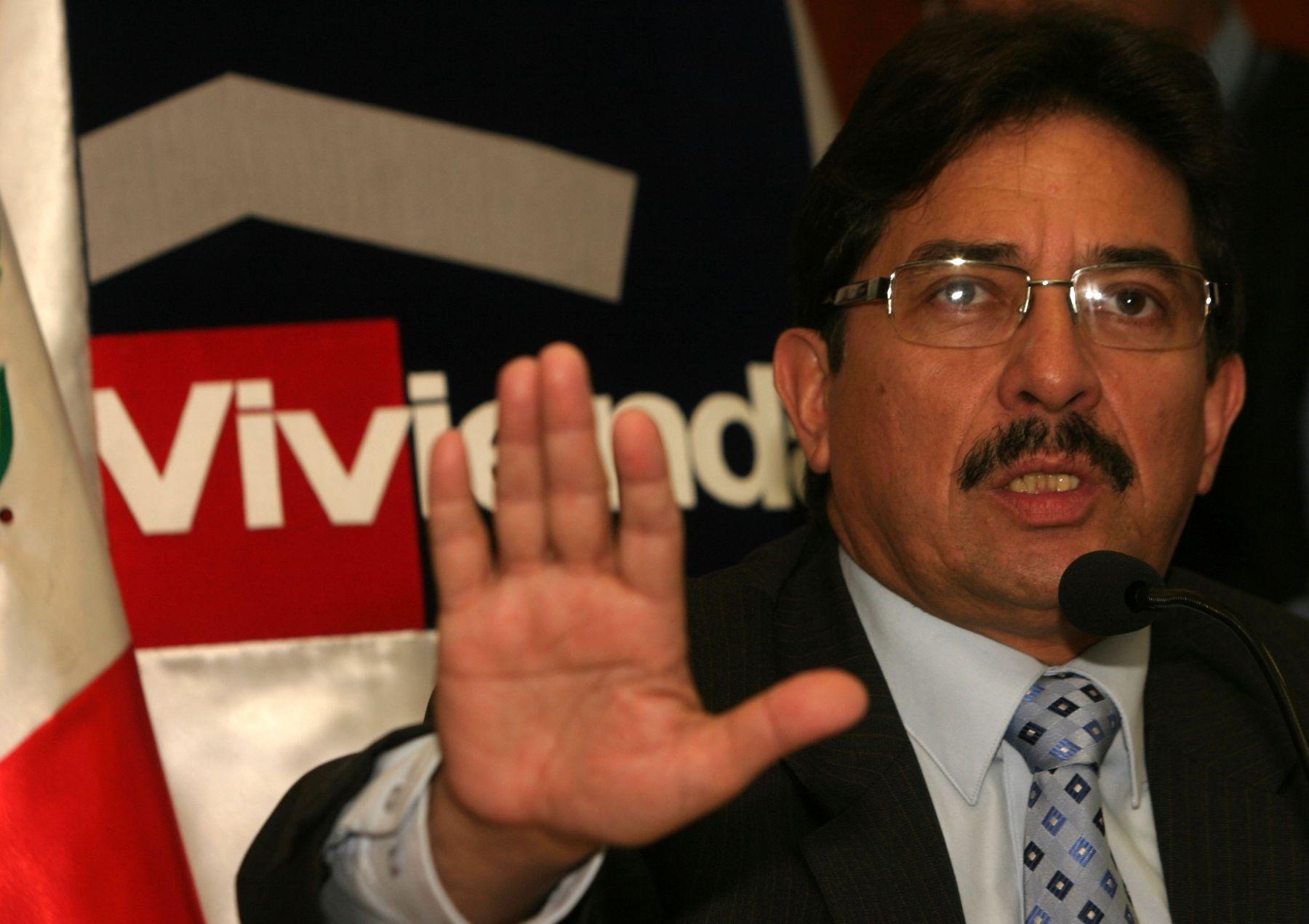 Ministro Enrique Cornejo. Foto:ANDINA/Archivo.