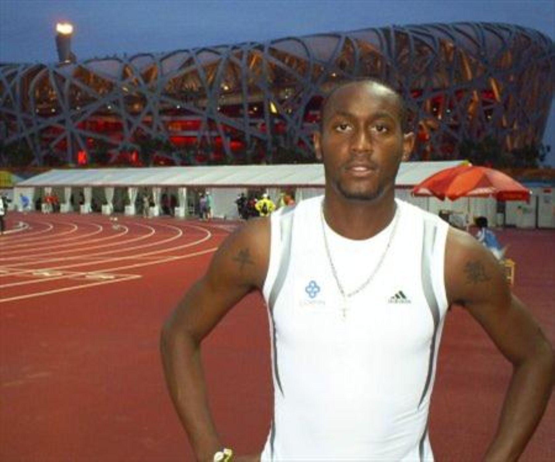 Atleta peruano Louis Tristán