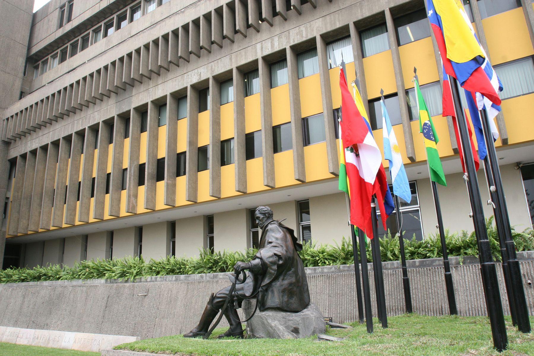 Sede de la Comunidad Andina en Lima.. ANDINA/Norman Córdova
