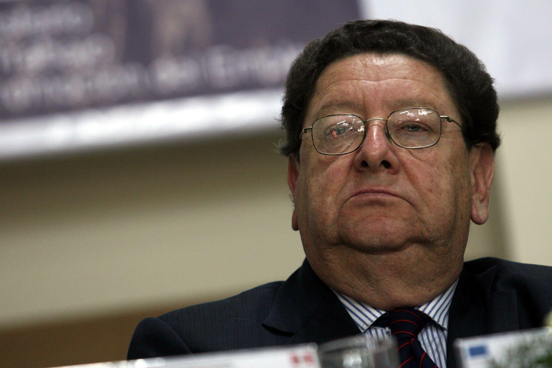 Falleció ex ministro de Trabajo, Mario Pasco. Foto: ANDINA/Archivo.