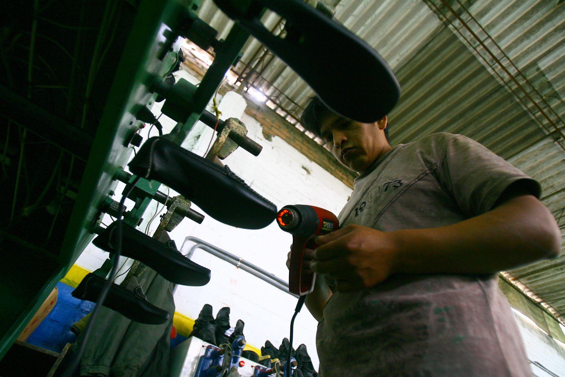 Industria del calzado. Foto: ANDINA/archivo