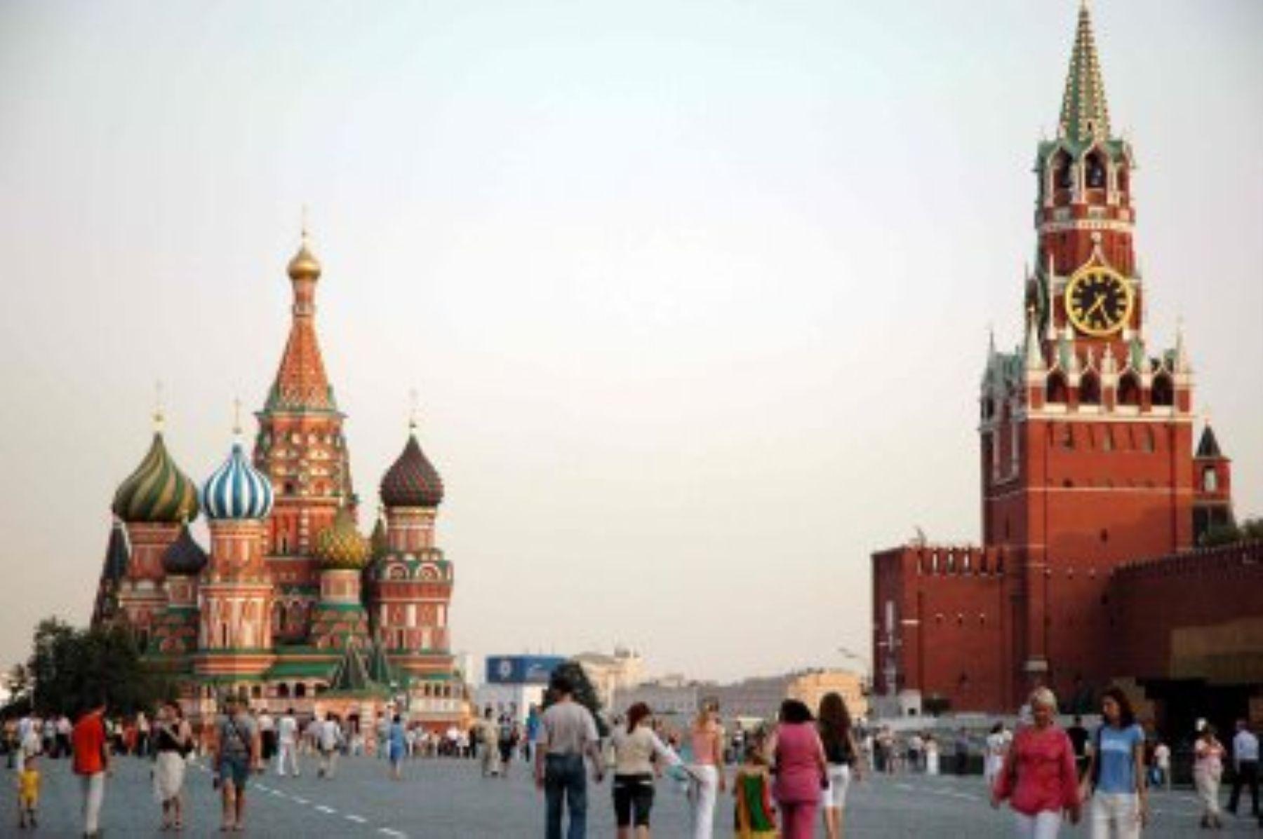 Moscú, Rusia Foto: INTERNET/Medios